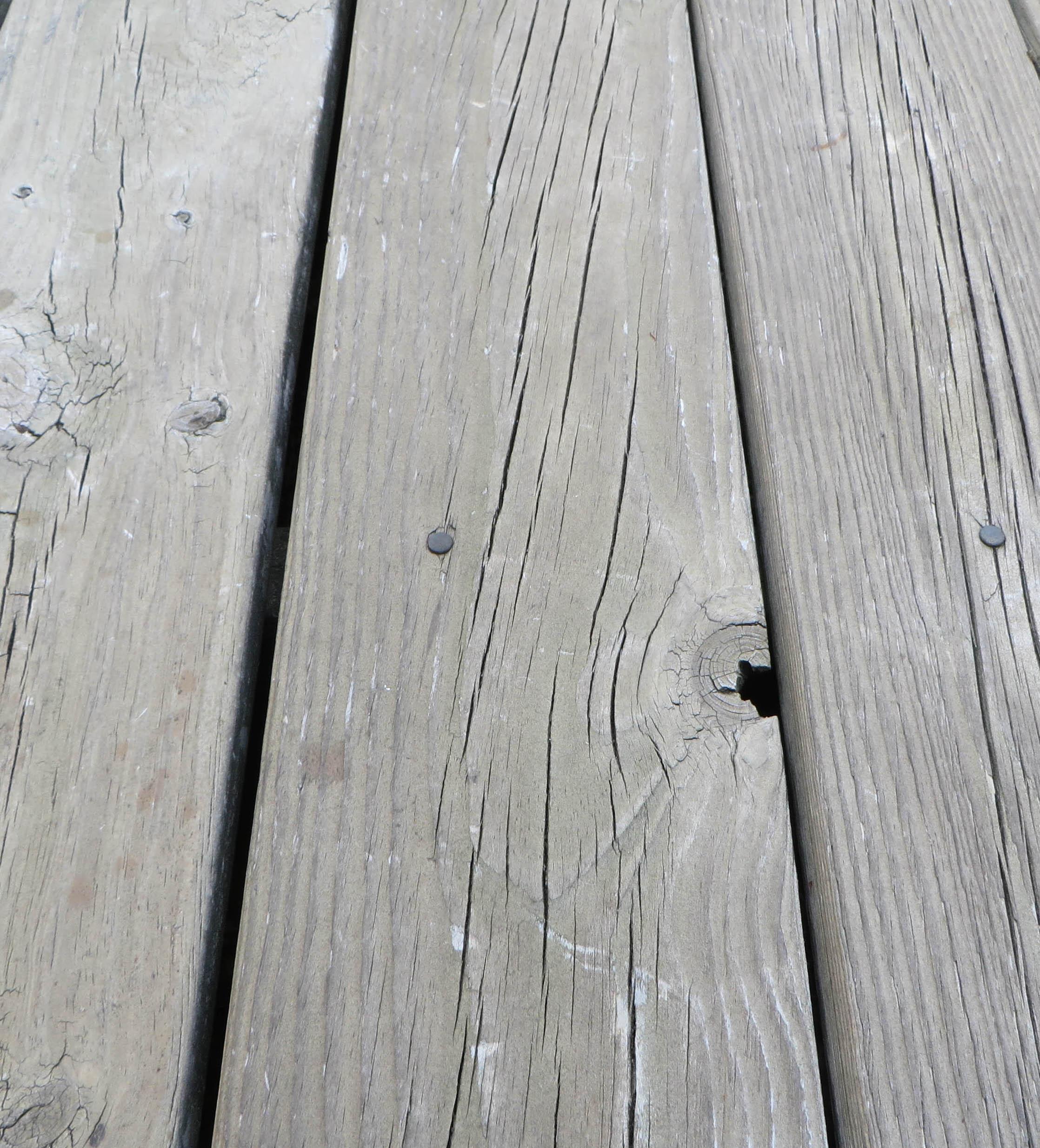 Refinishing Cracked, Weathered Decking | BuildingAdvisor