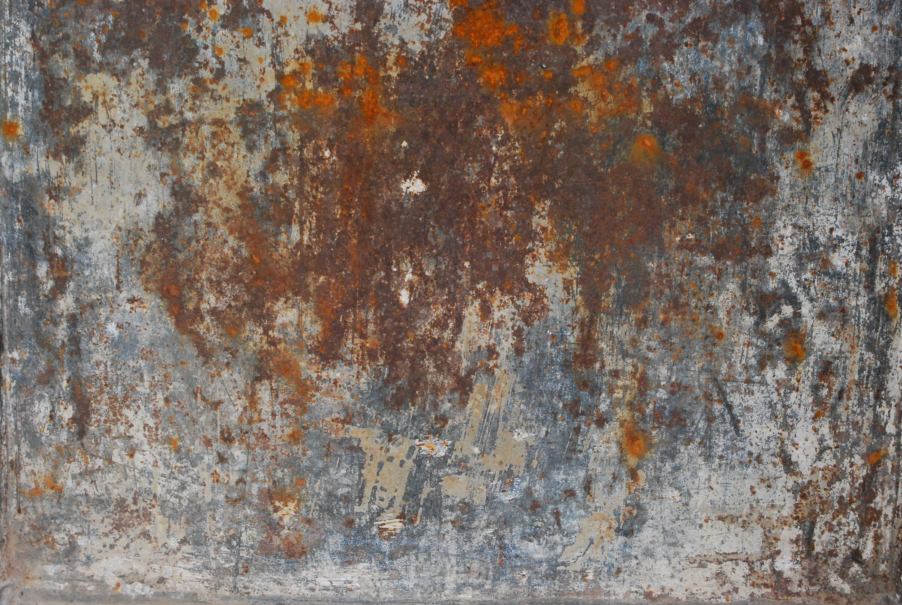Free Photo Rusted Metal Surface Aged Plate Used