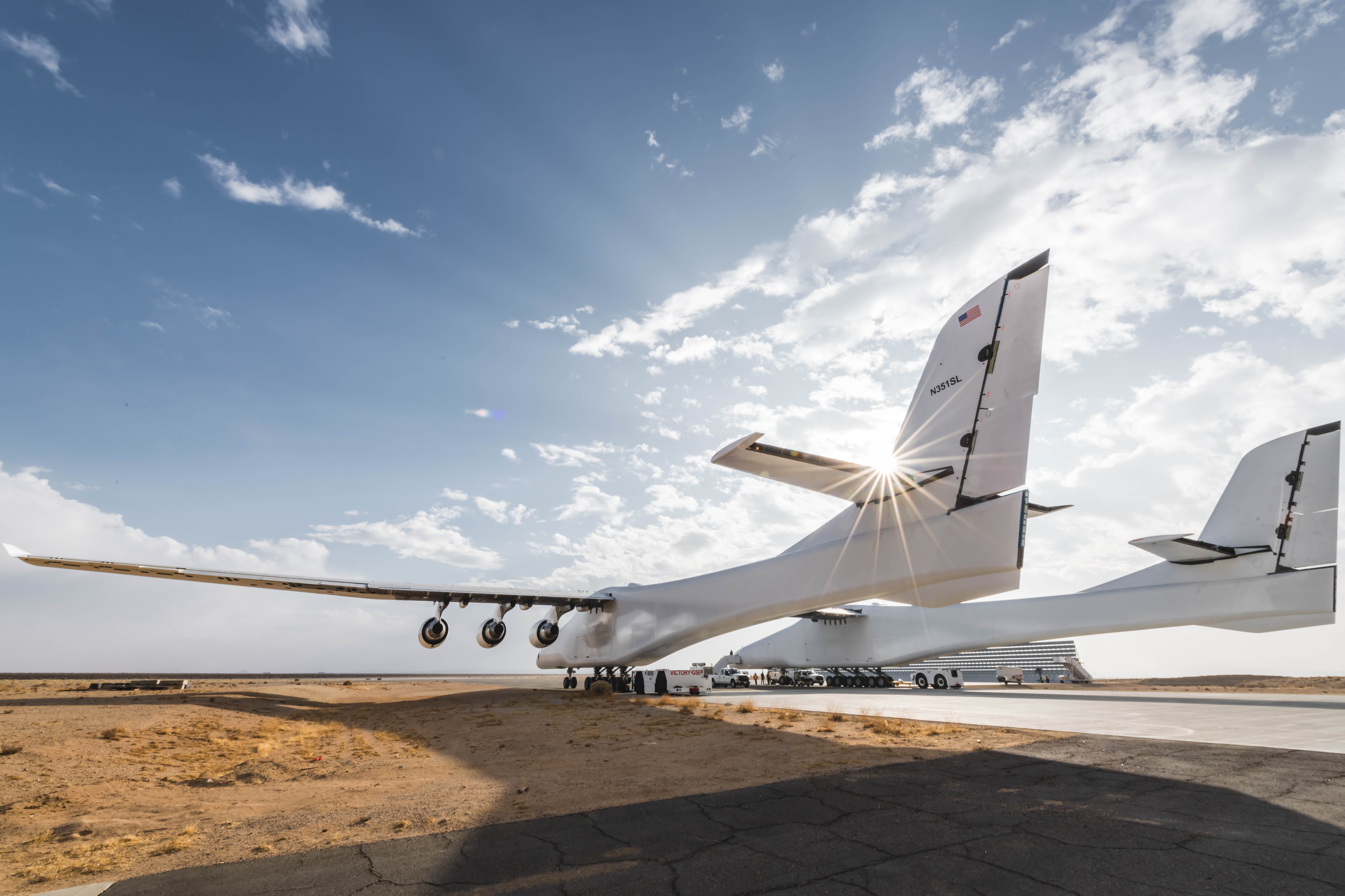 Watch the world's biggest airplane taxi down a runway as it preps ...