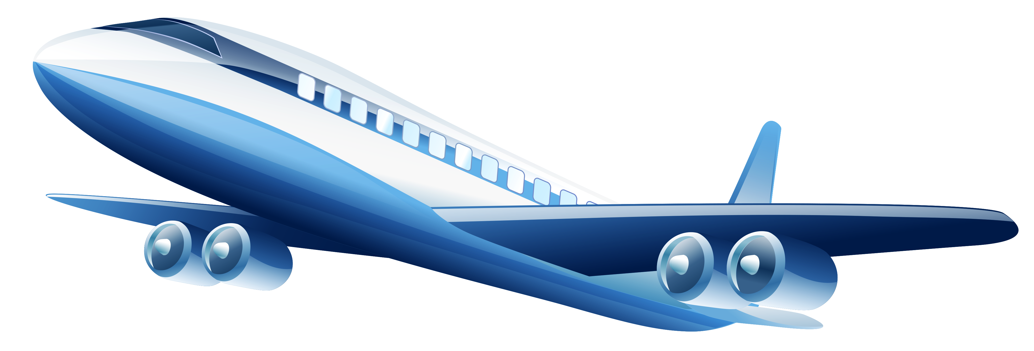 Blue Airplane PNG Clipart - Best WEB Clipart