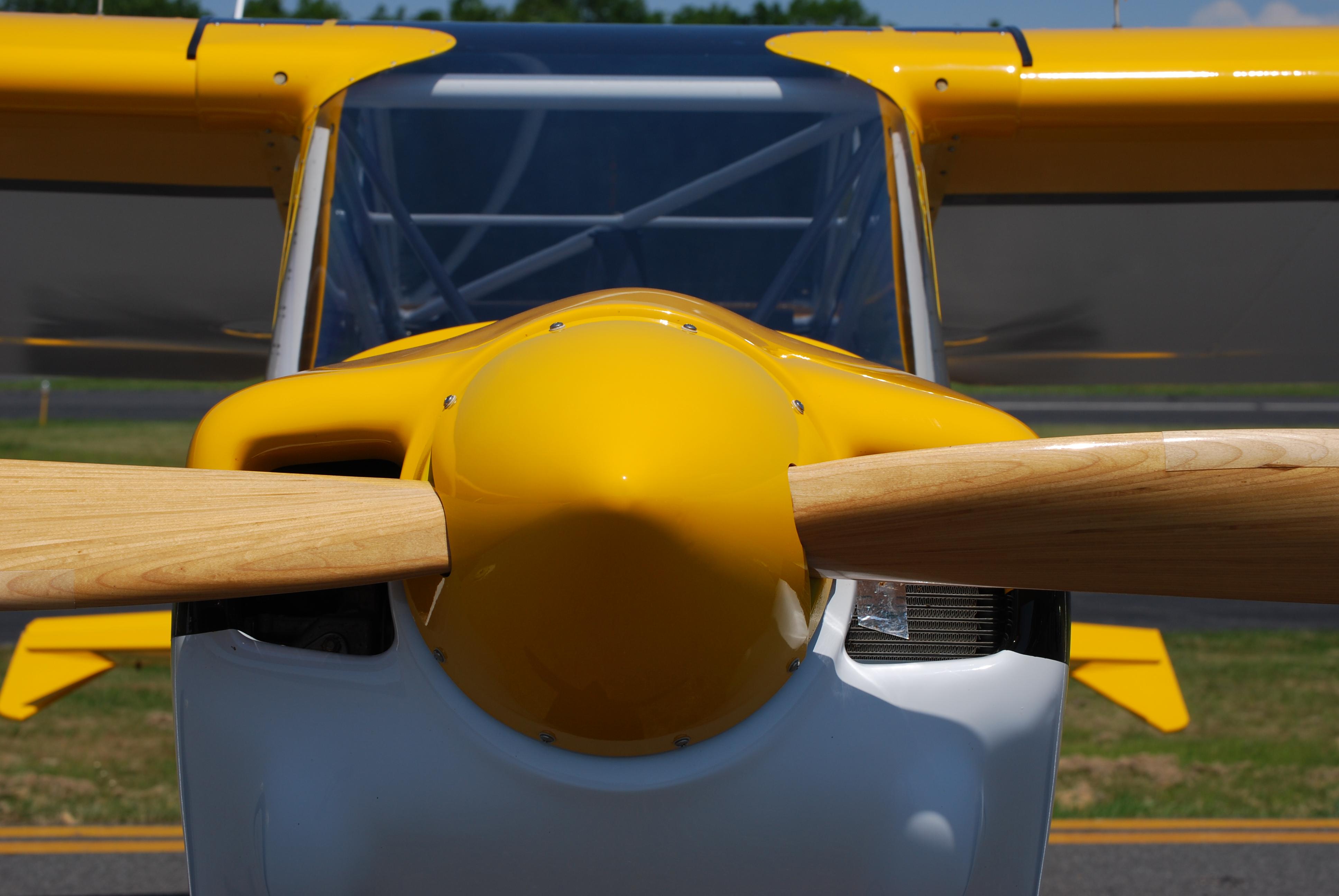 Airplane, Engine, Metallic, Motor, Propeller, HQ Photo