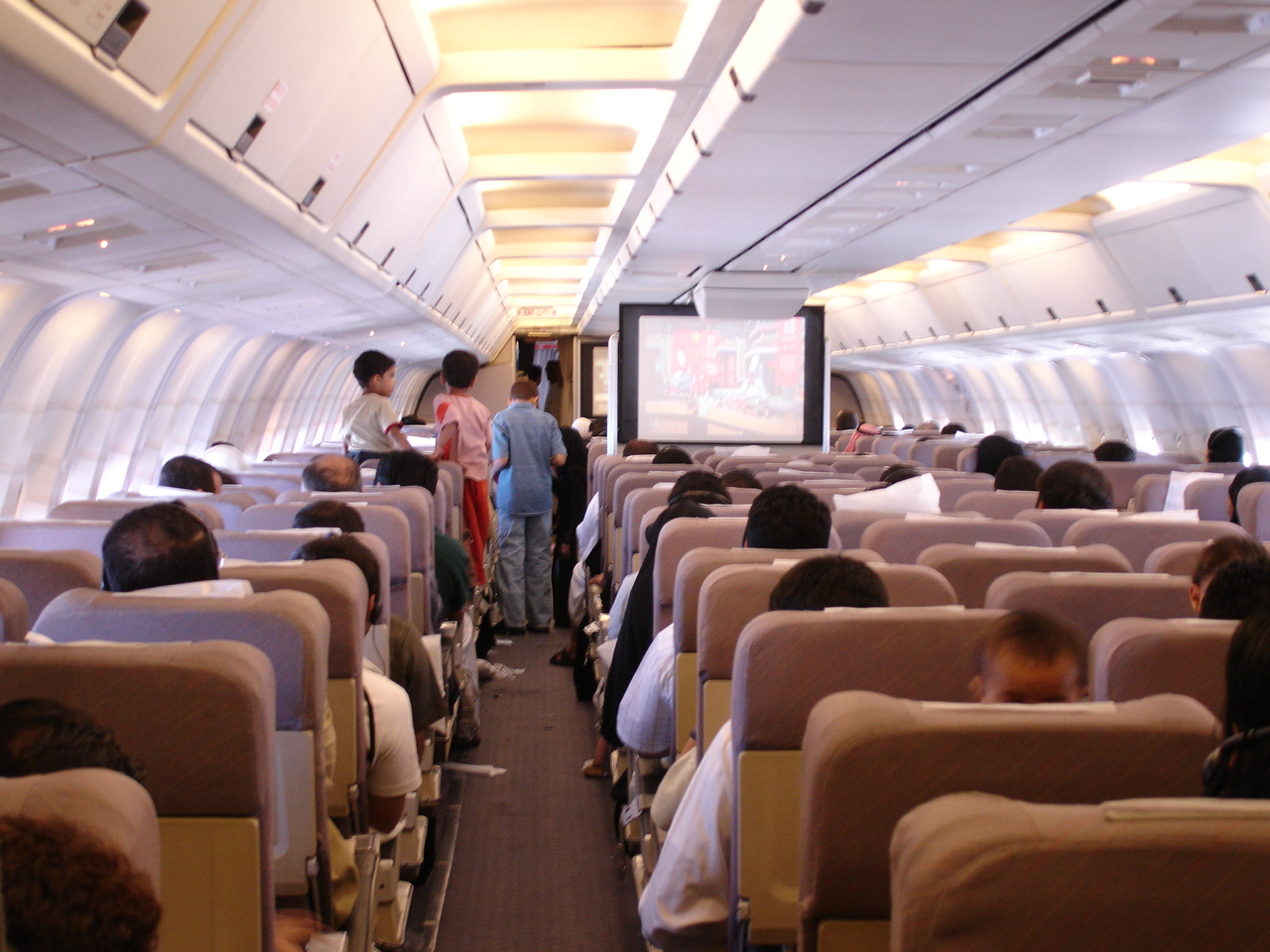 Airplane cabin, Airplane, Cabin, Indoors, Passengers, HQ Photo