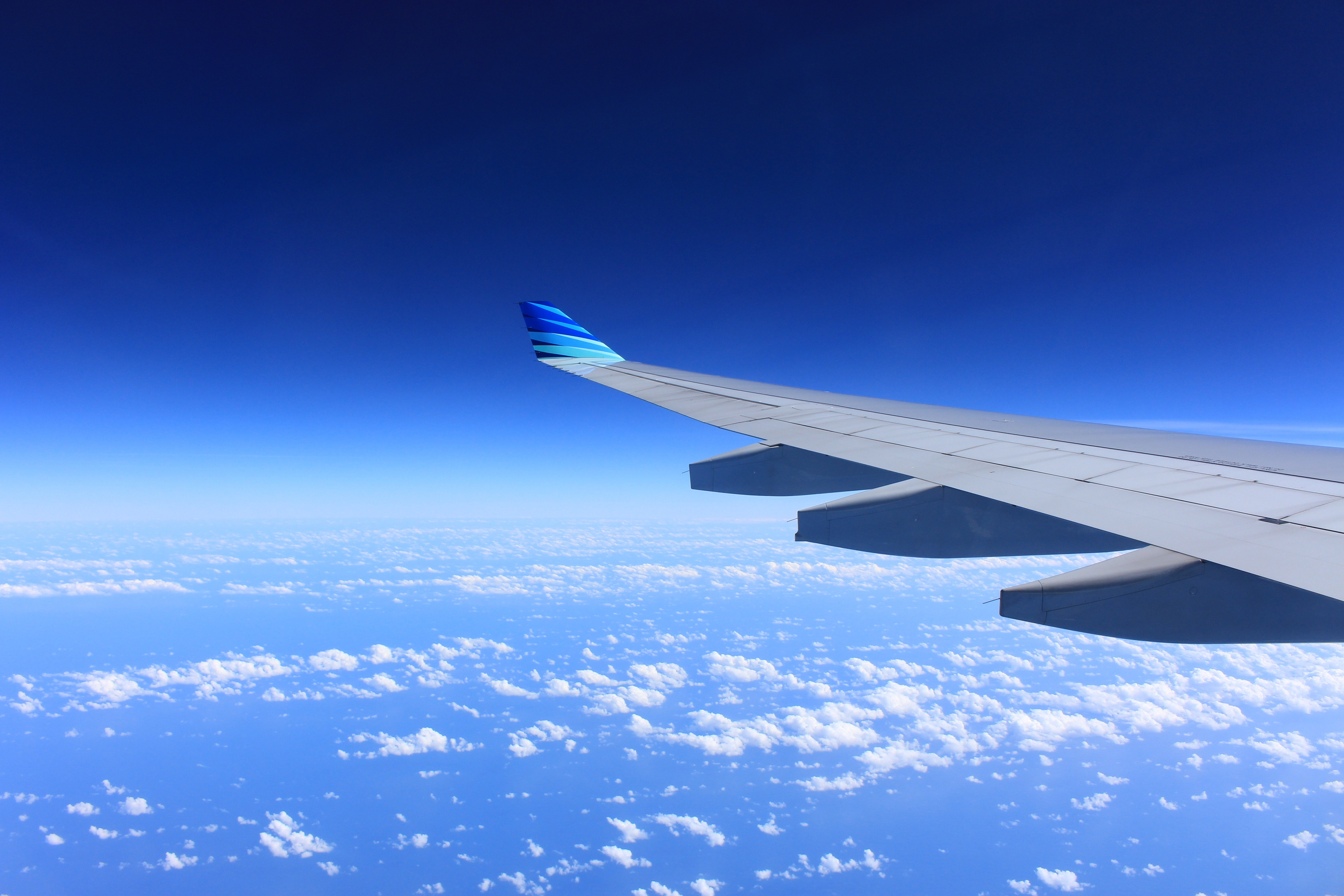 Gray Plane Wing · Free Stock Photo
