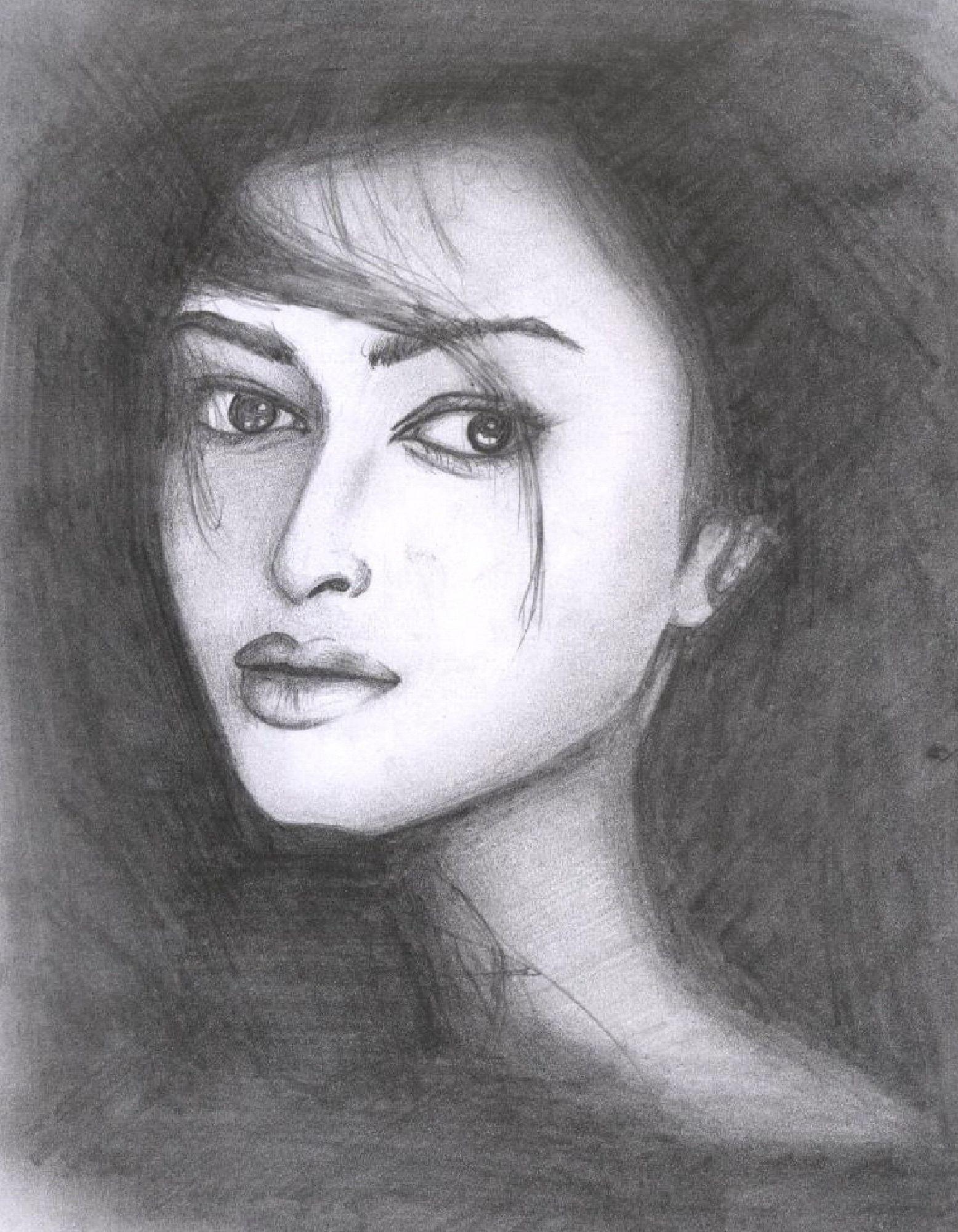 Aishwarya rai sketch photo