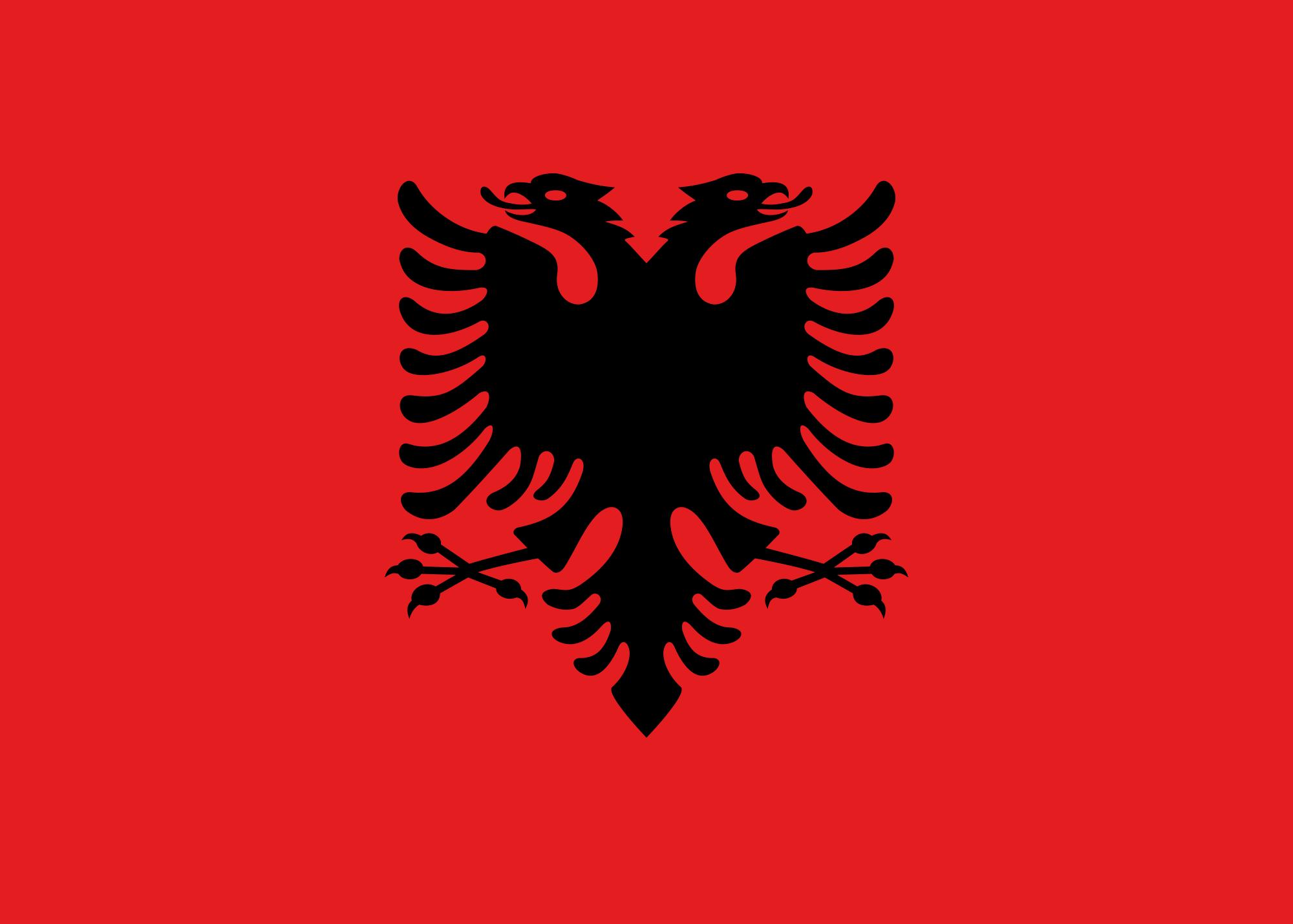 Albania flag photo