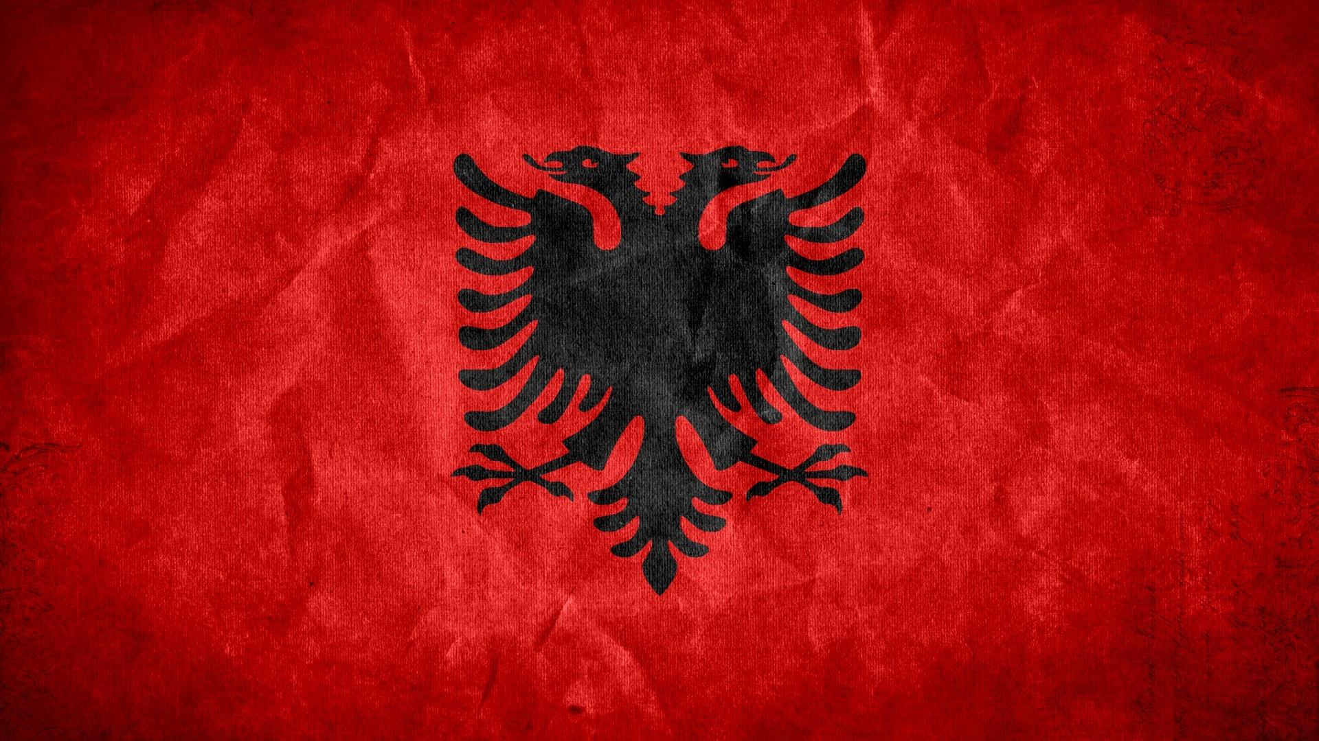 Grunge flags national albania wallpaper | (13081)