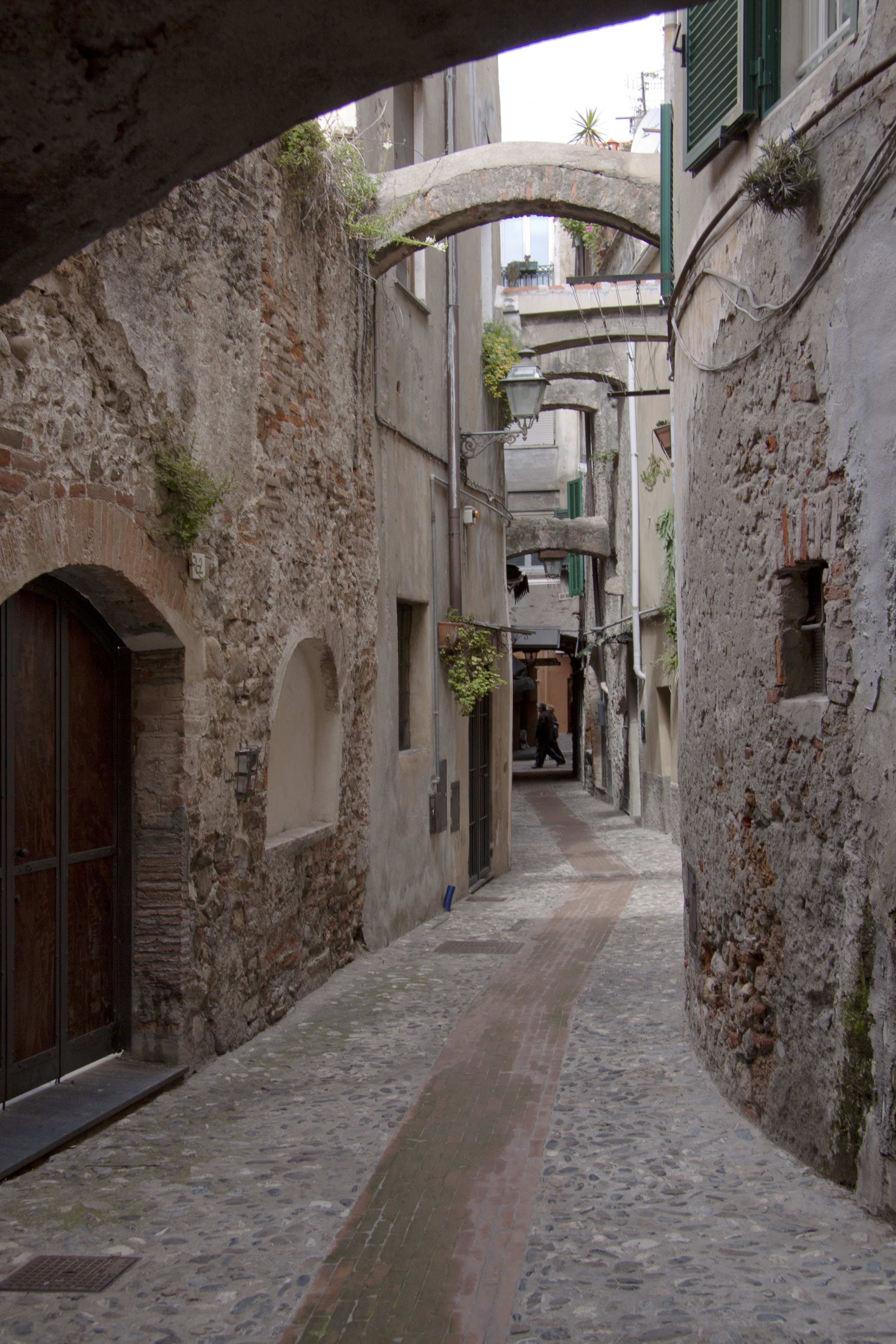 Albenga Street, Architecture, Construction, Old, Street, HQ Photo