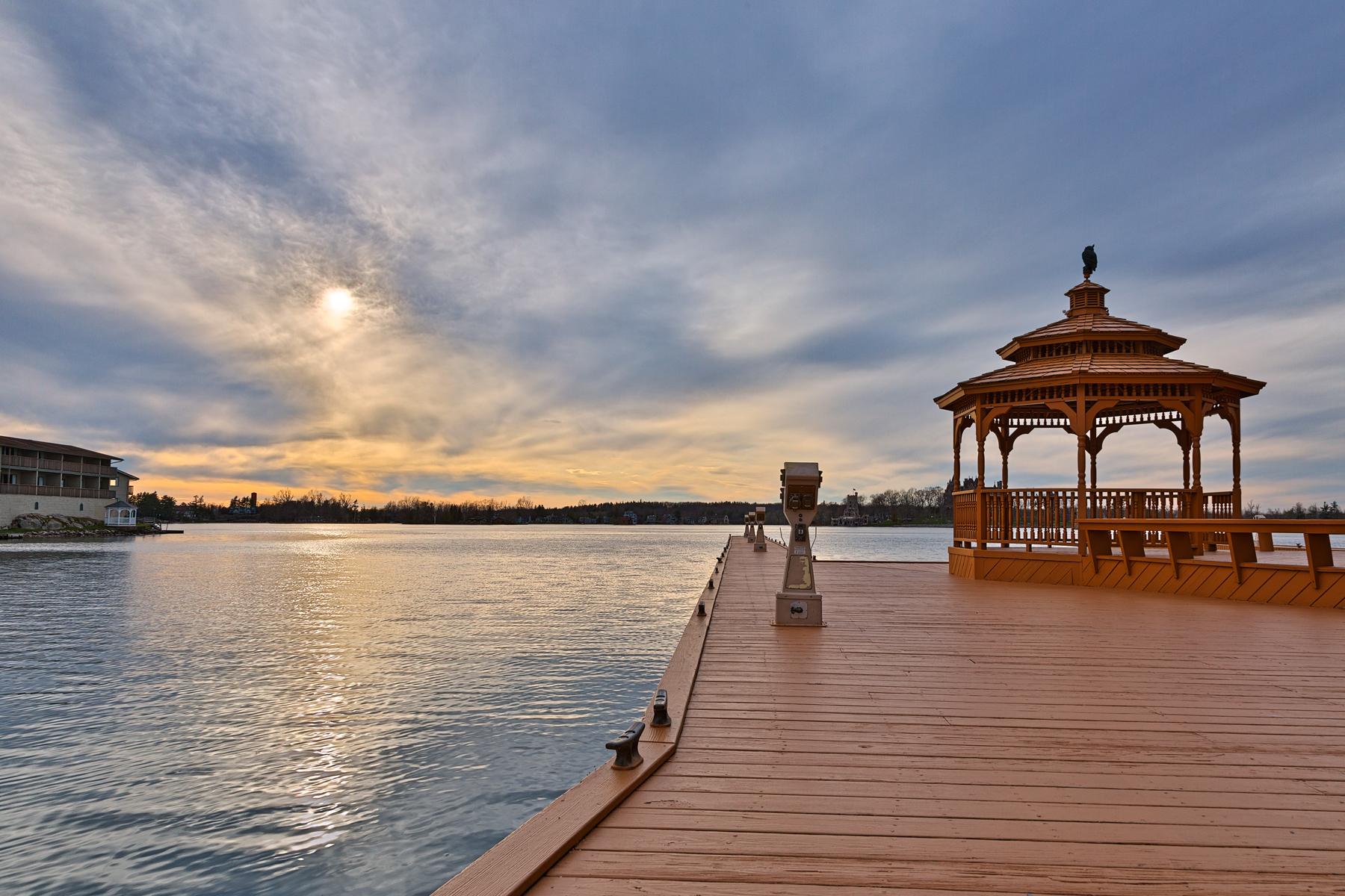 Alexandria Bay Sunset - HDR, 1000, Promenade, Shades, Shade, HQ Photo