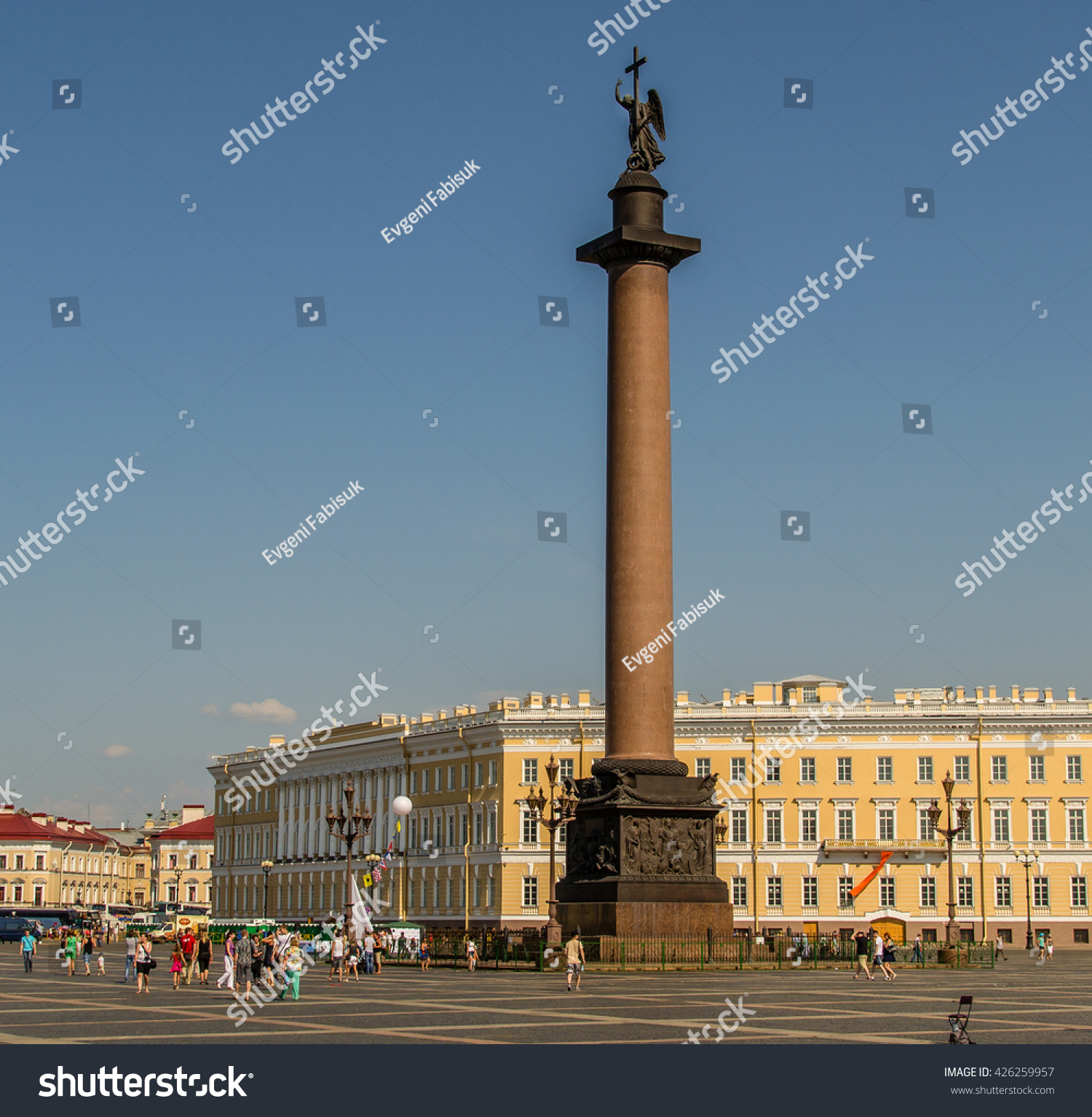 Palace Square St Petersburg Russia Stock Photo 426259957 - Shutterstock