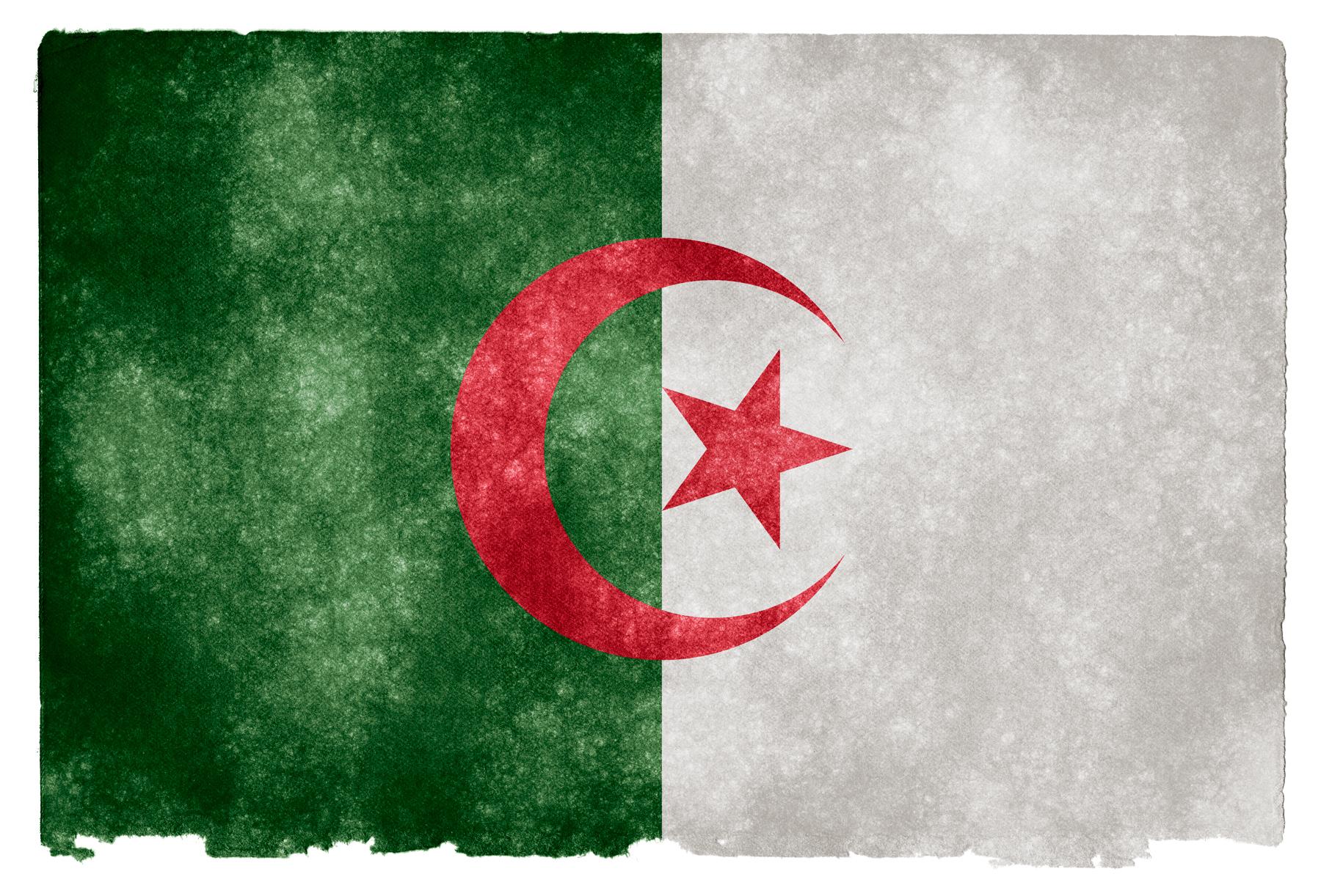 Algeria Grunge Flag, Africa, Resource, Moon, Nation, HQ Photo