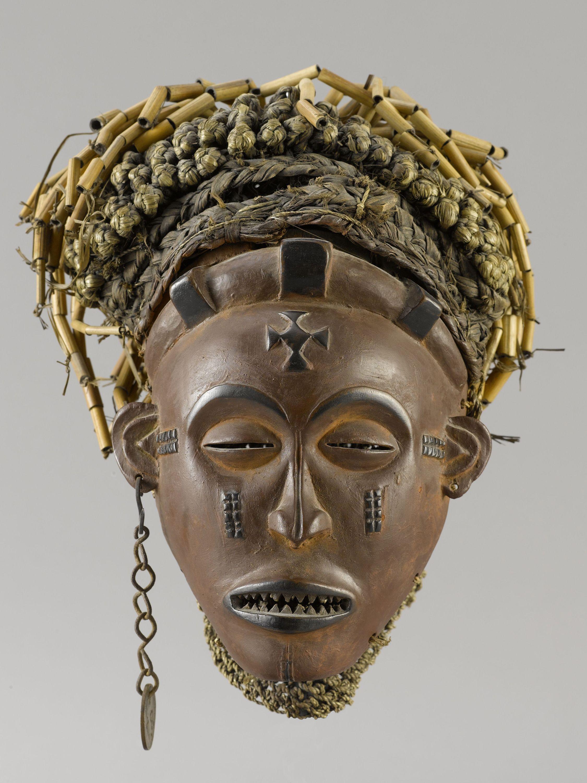 Chokwe Mwana Pwo (Young Woman) Mask, Angola http://www.imodara.com ...