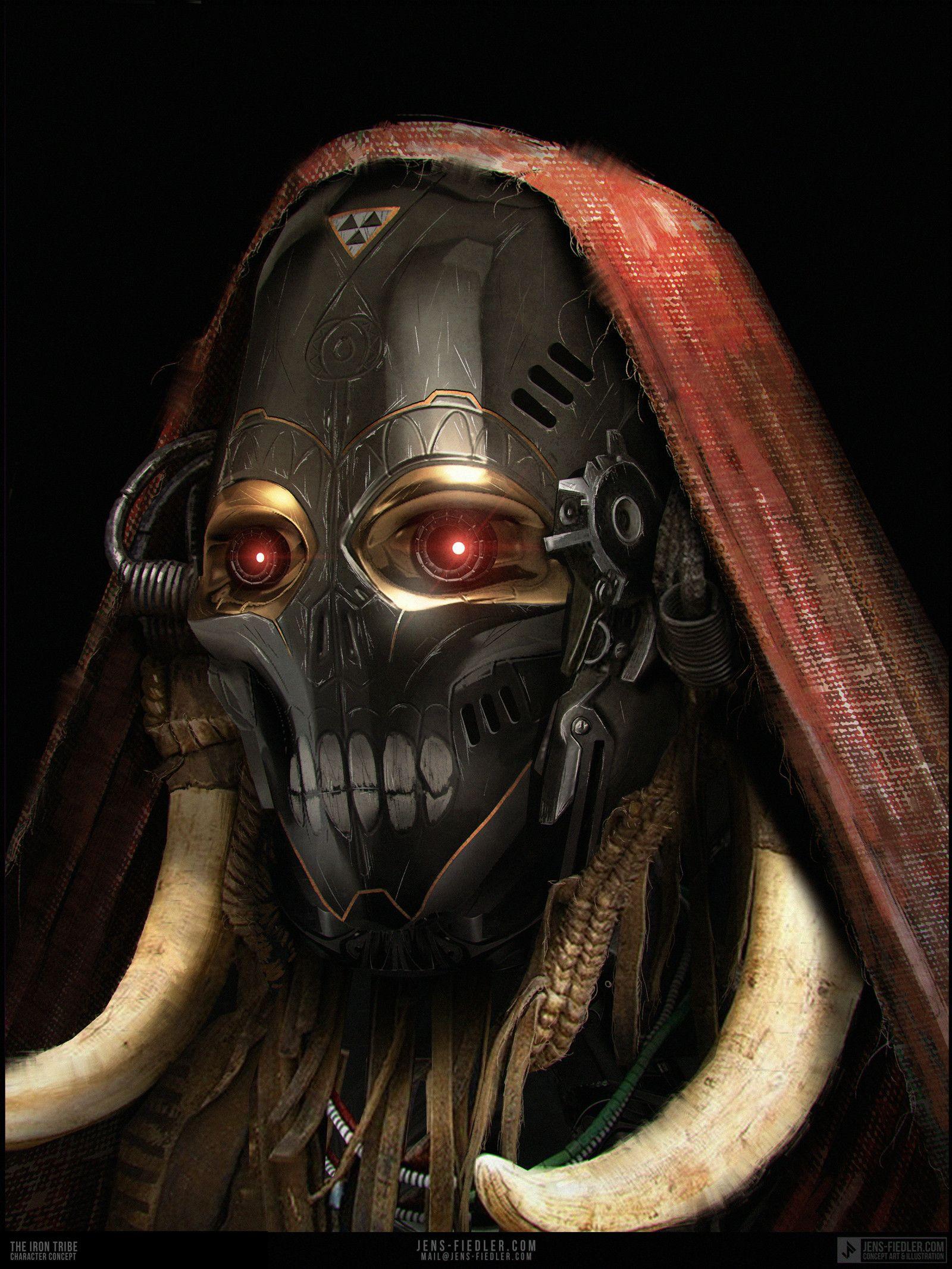 ArtStation - The Iron Tribe, Jens Fiedler | Sci-Fi (Aliens/Weapons ...