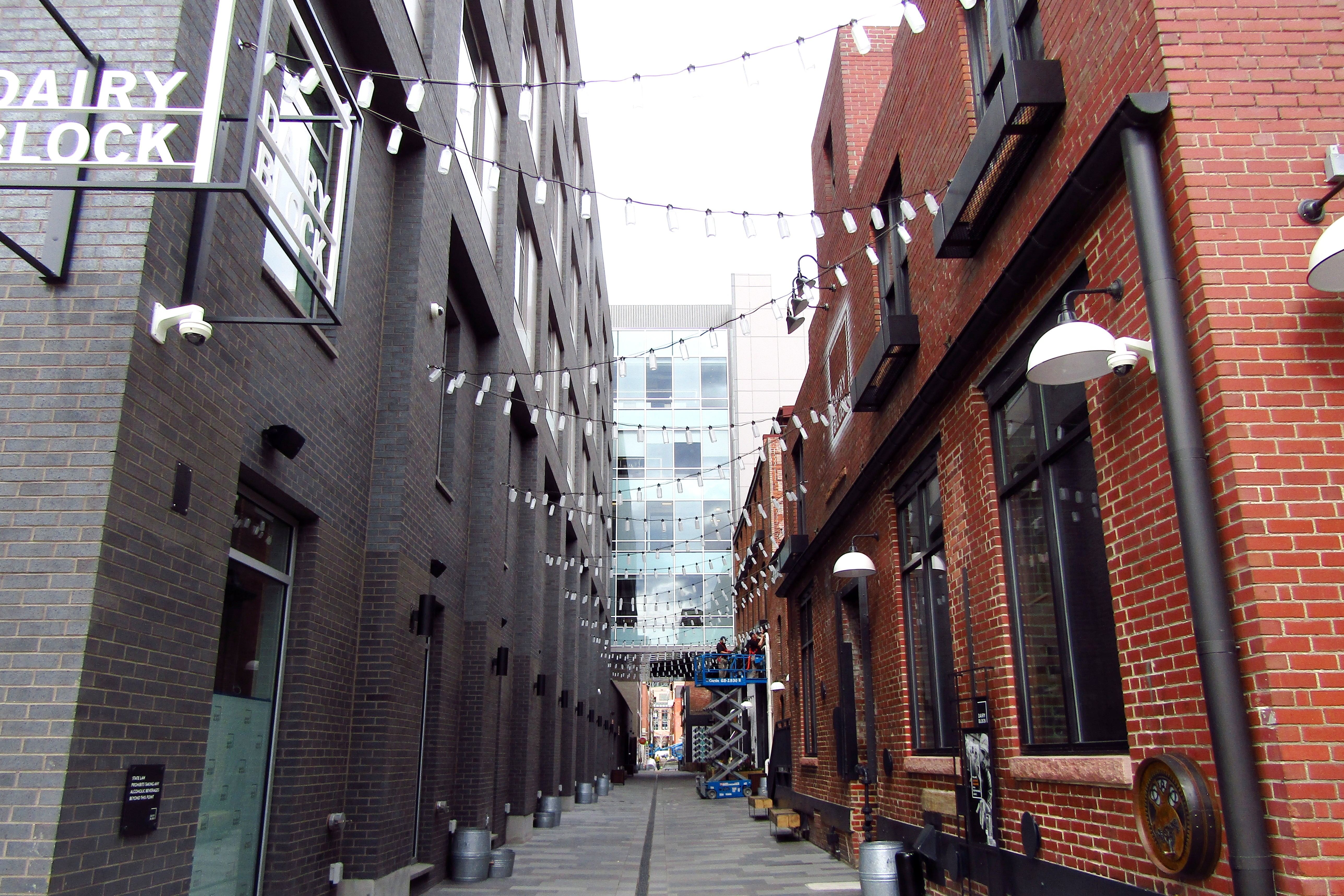 The Alley at the Dairy Block Opens to Pedestrians on Friday, April 6 ...
