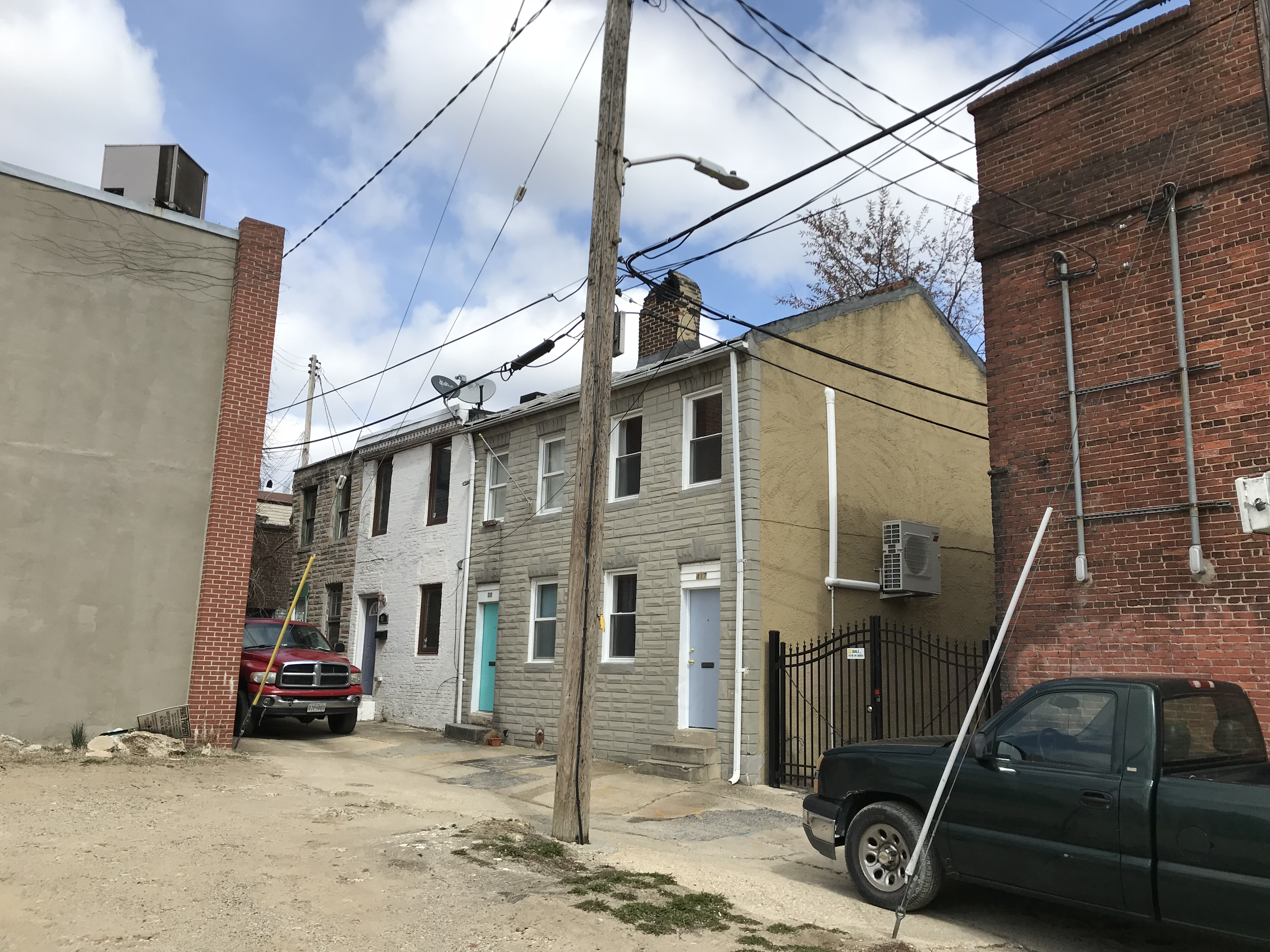 Alley houses, 411-417 griffin court, baltimore, md 21231 photo