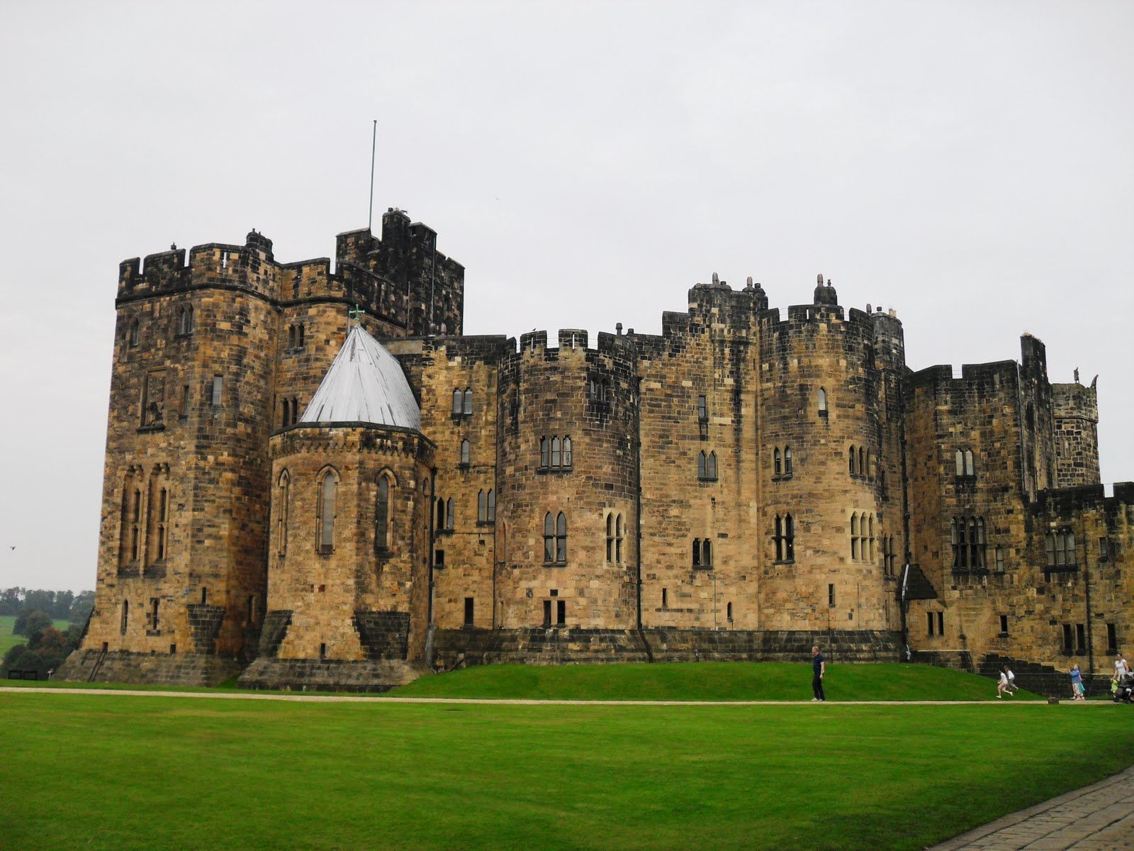 Alnwick castle, england photo