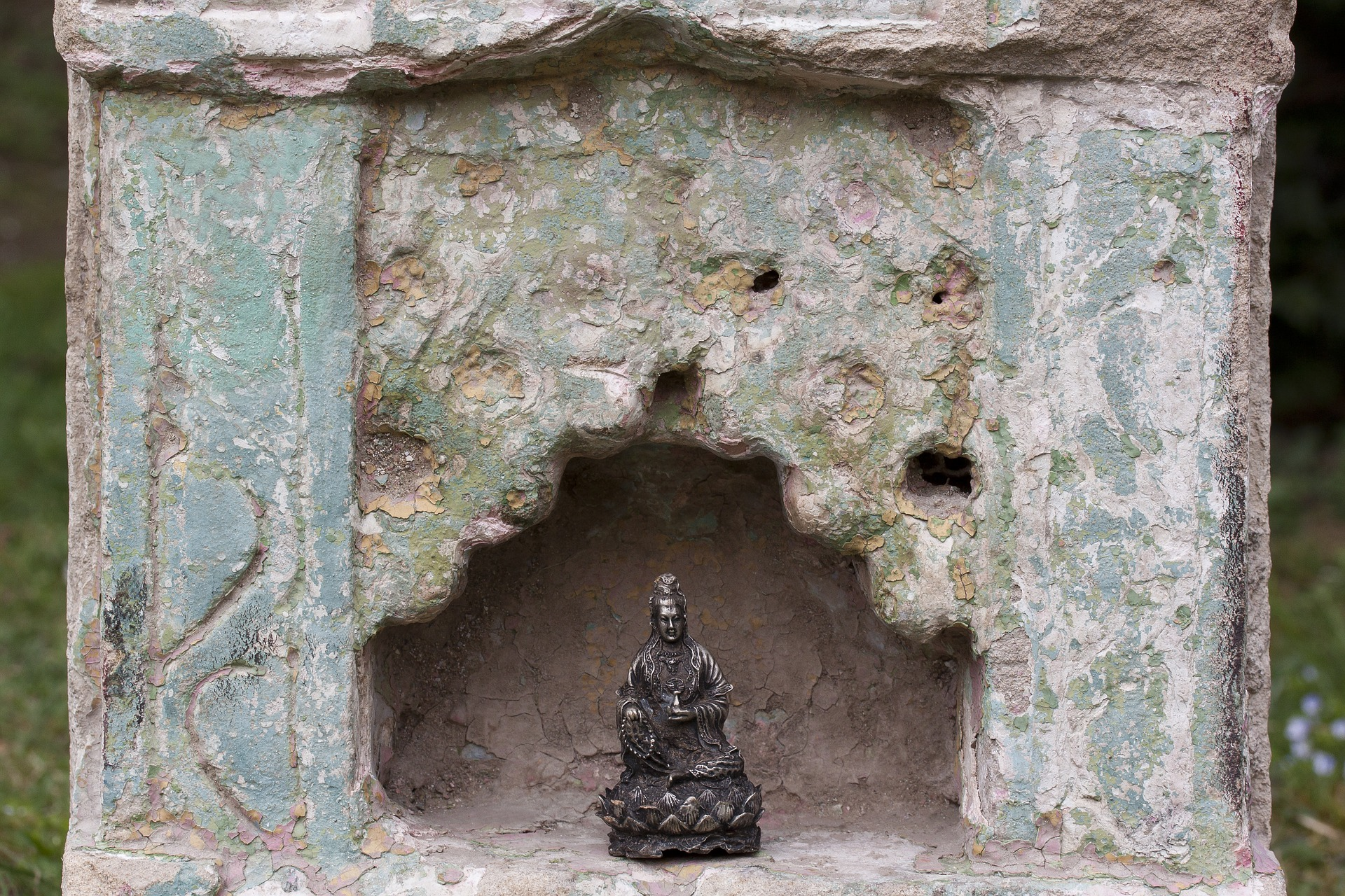 Altar, Buddha, Figure, Object, Religious, HQ Photo