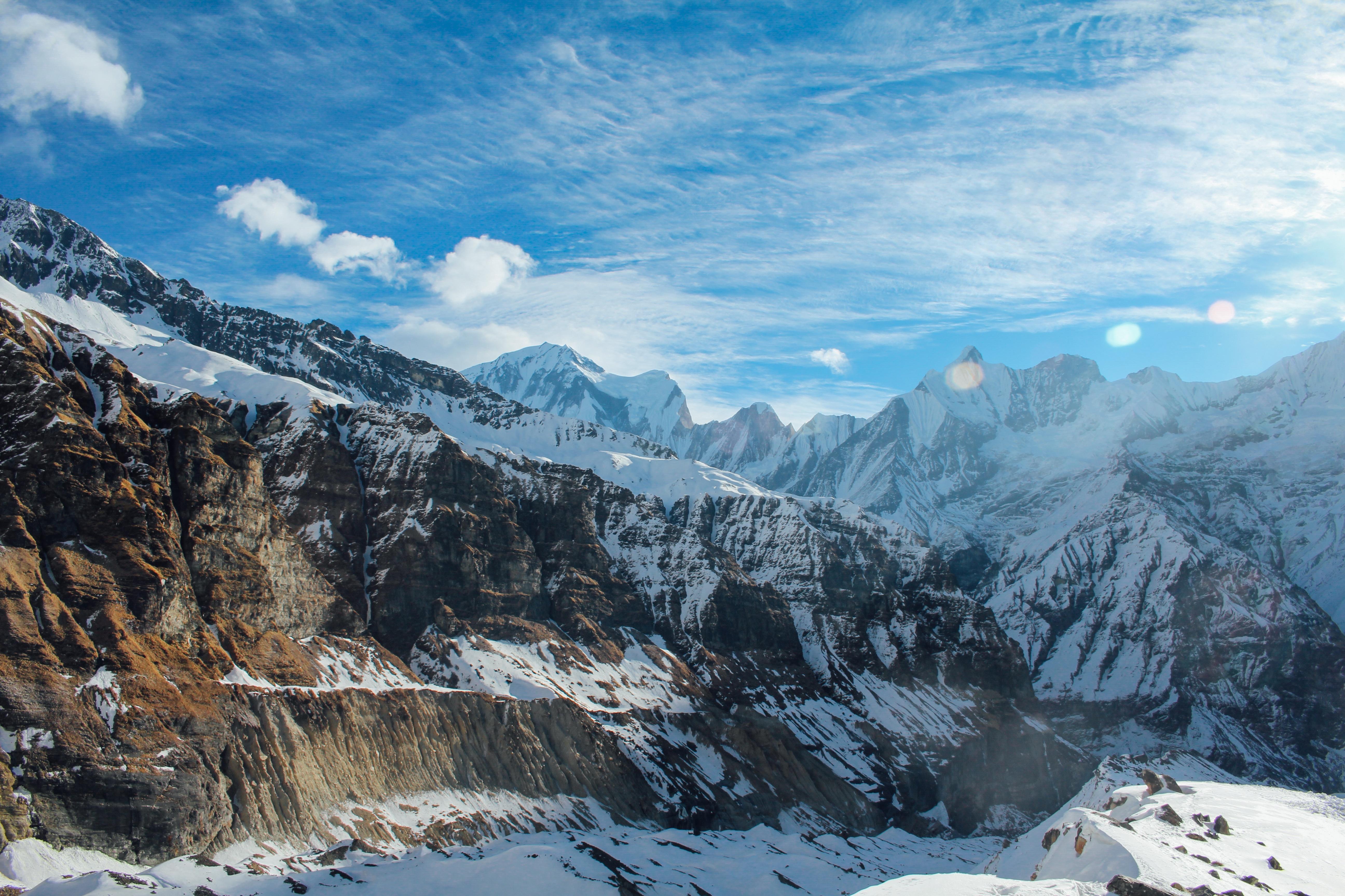 Altitude, Ice, Landscape, Mountain, Nature, HQ Photo