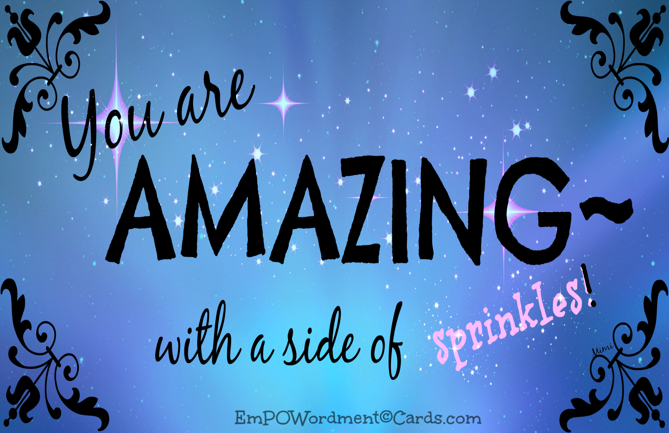 YOU are Amazing!! And don't you forget it! – Particular Passions ...