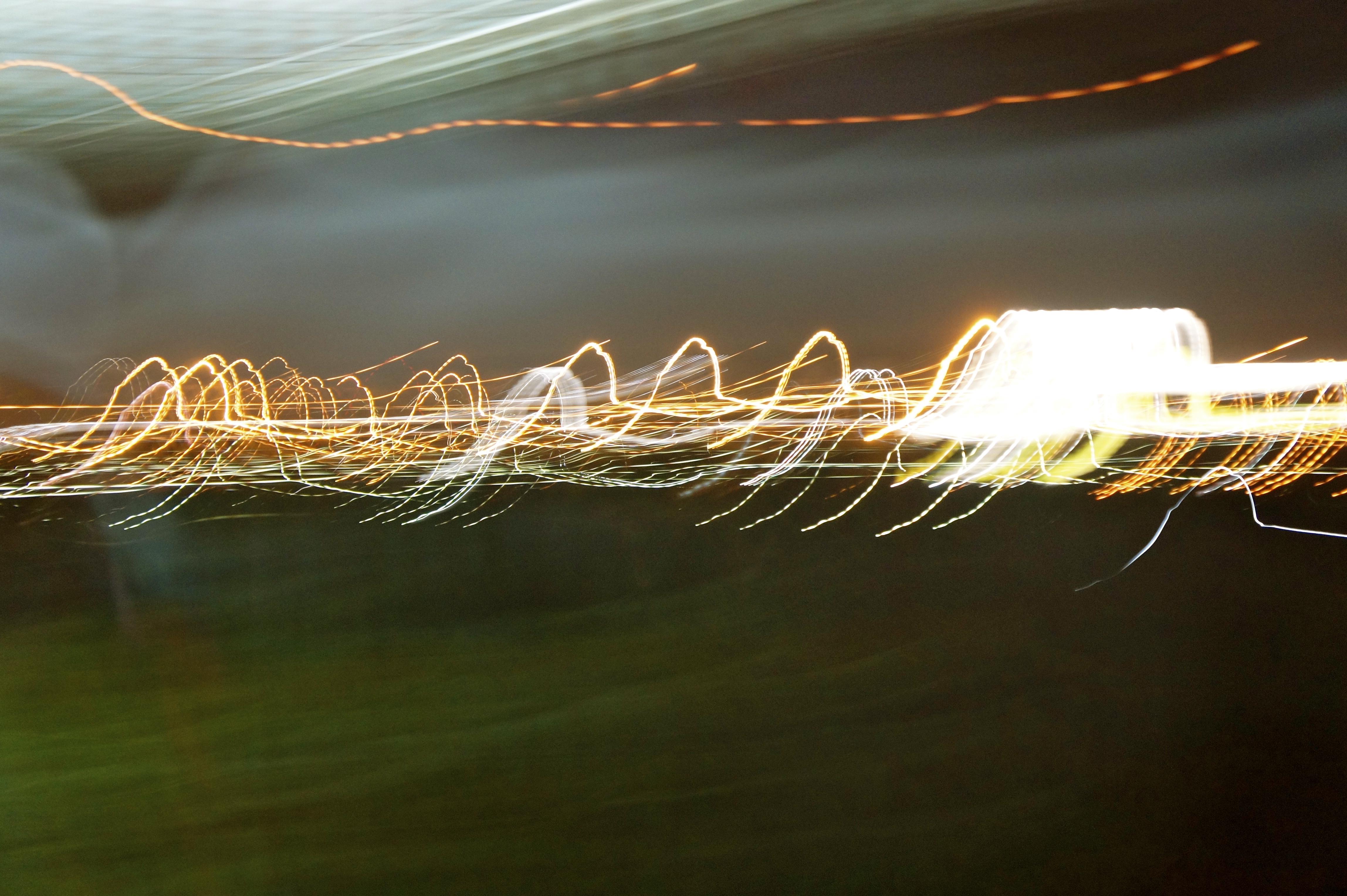Amazing, Light, Landscape, Effect, Blur, HQ Photo