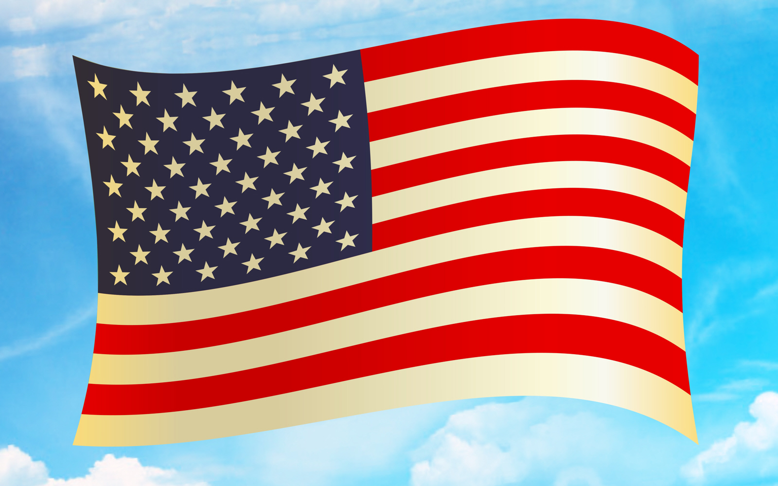 free photo american flag clipart stripes usa stars free