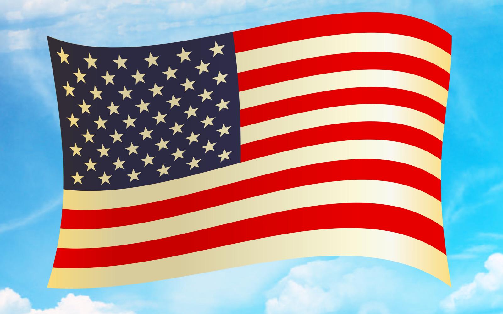 free photo american flag clipart stripes usa stars free