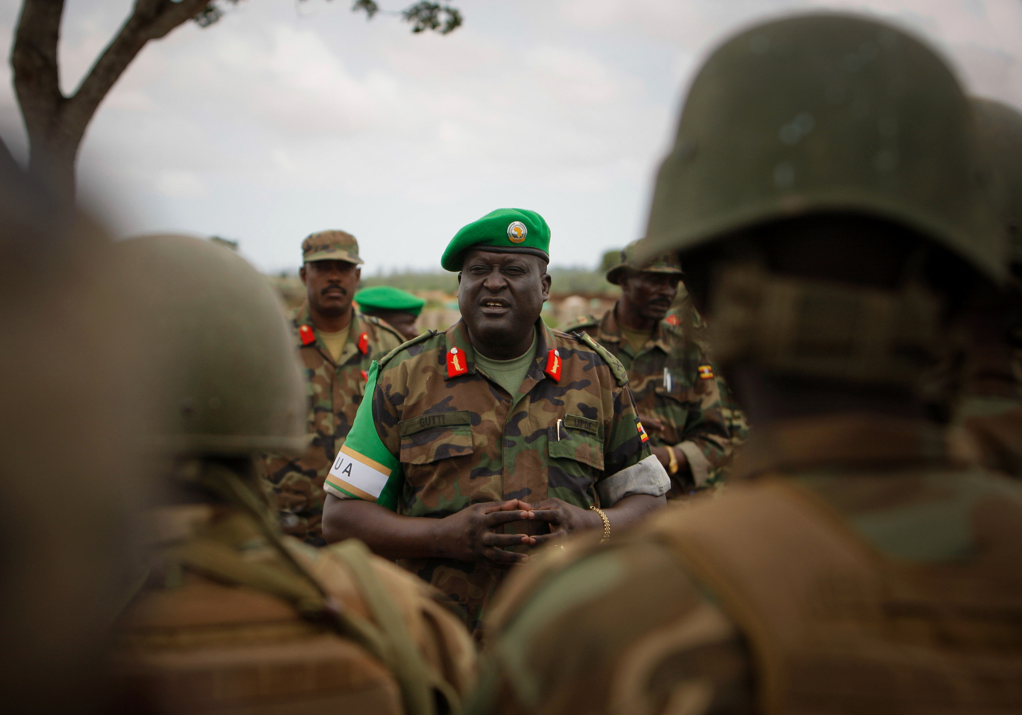 AMISOM Force Commander tours Afgoye Corridor 03, Afgoye, AMISOM, Commander, Force, HQ Photo