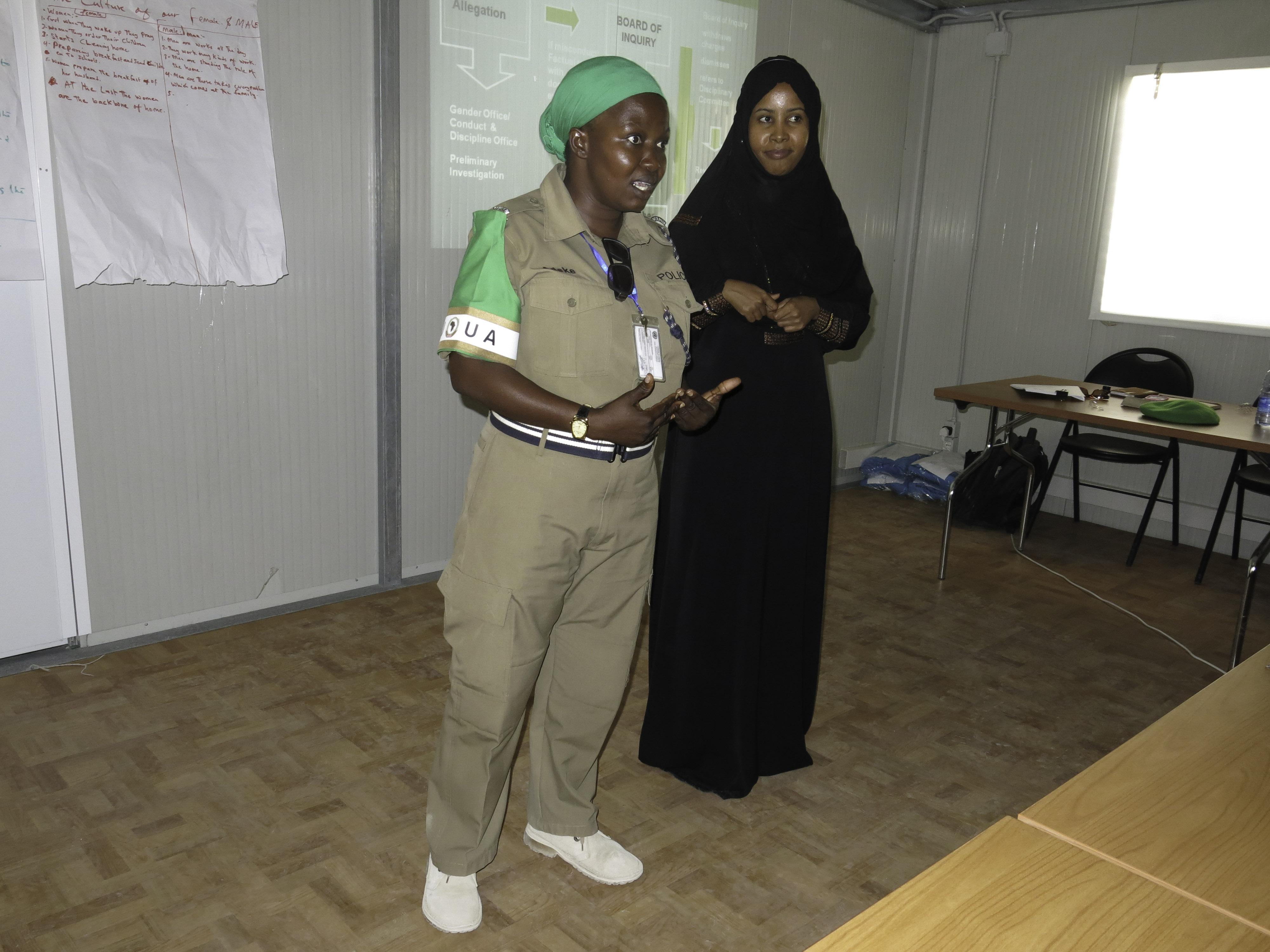AMISOM Sensitizes it's Somali Language Assistants on Sexual exploitation and Abuse. -4, AMISOM, Au, Conference, Gender, HQ Photo
