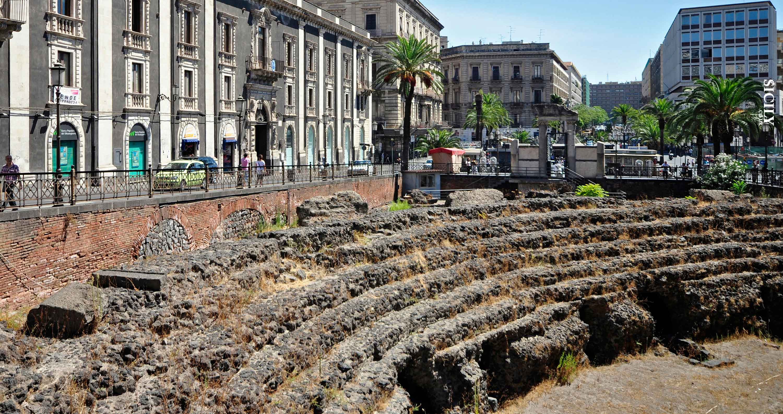 Roman Amphitheatre in Catania - Sicily