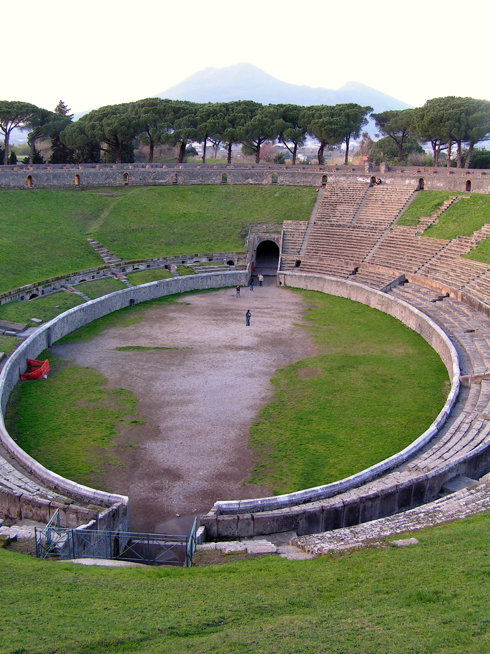 Buried in time – a Roman amphitheatre « Hampshire Archaeology