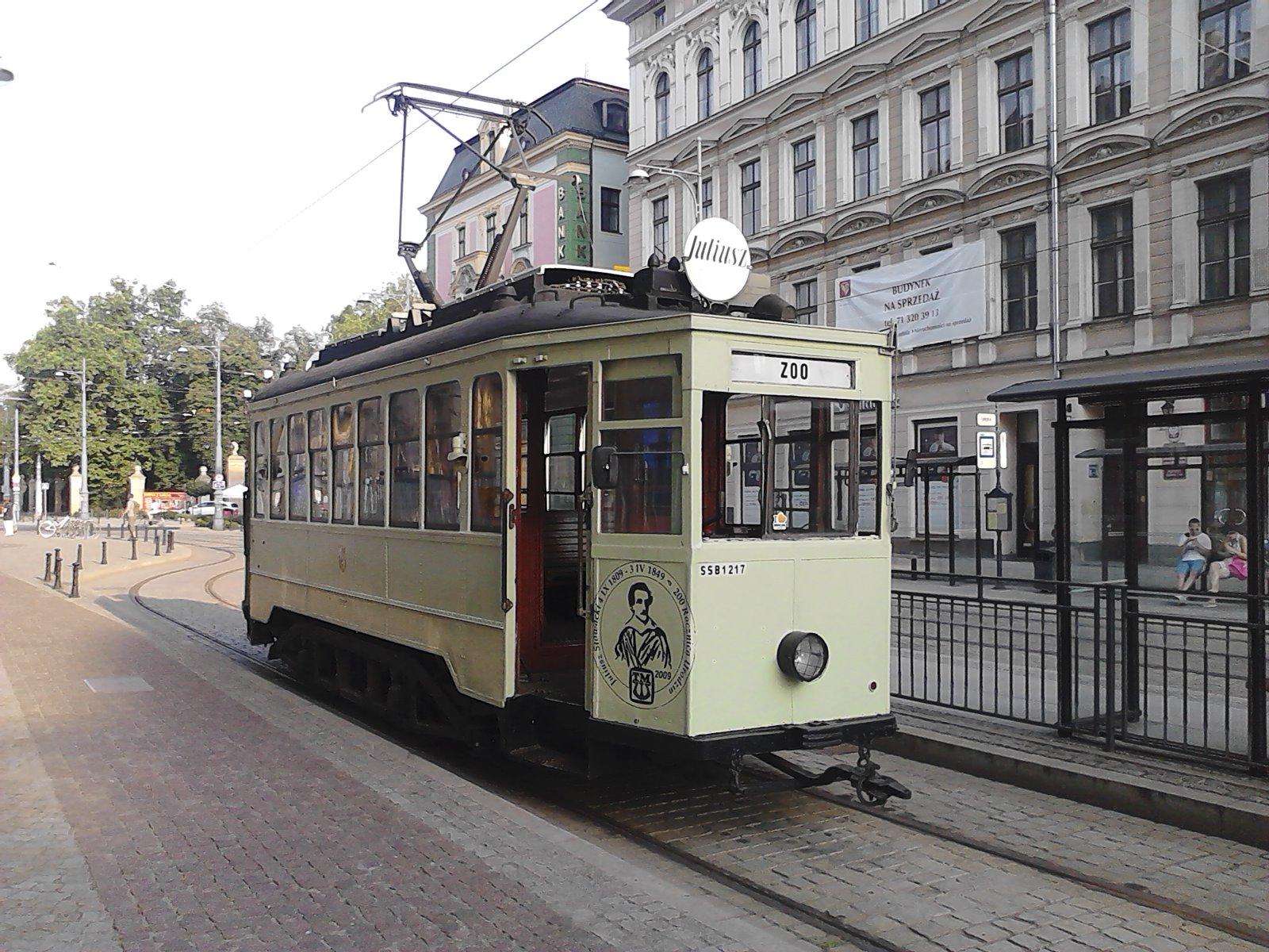 Tram in wroclaw photo