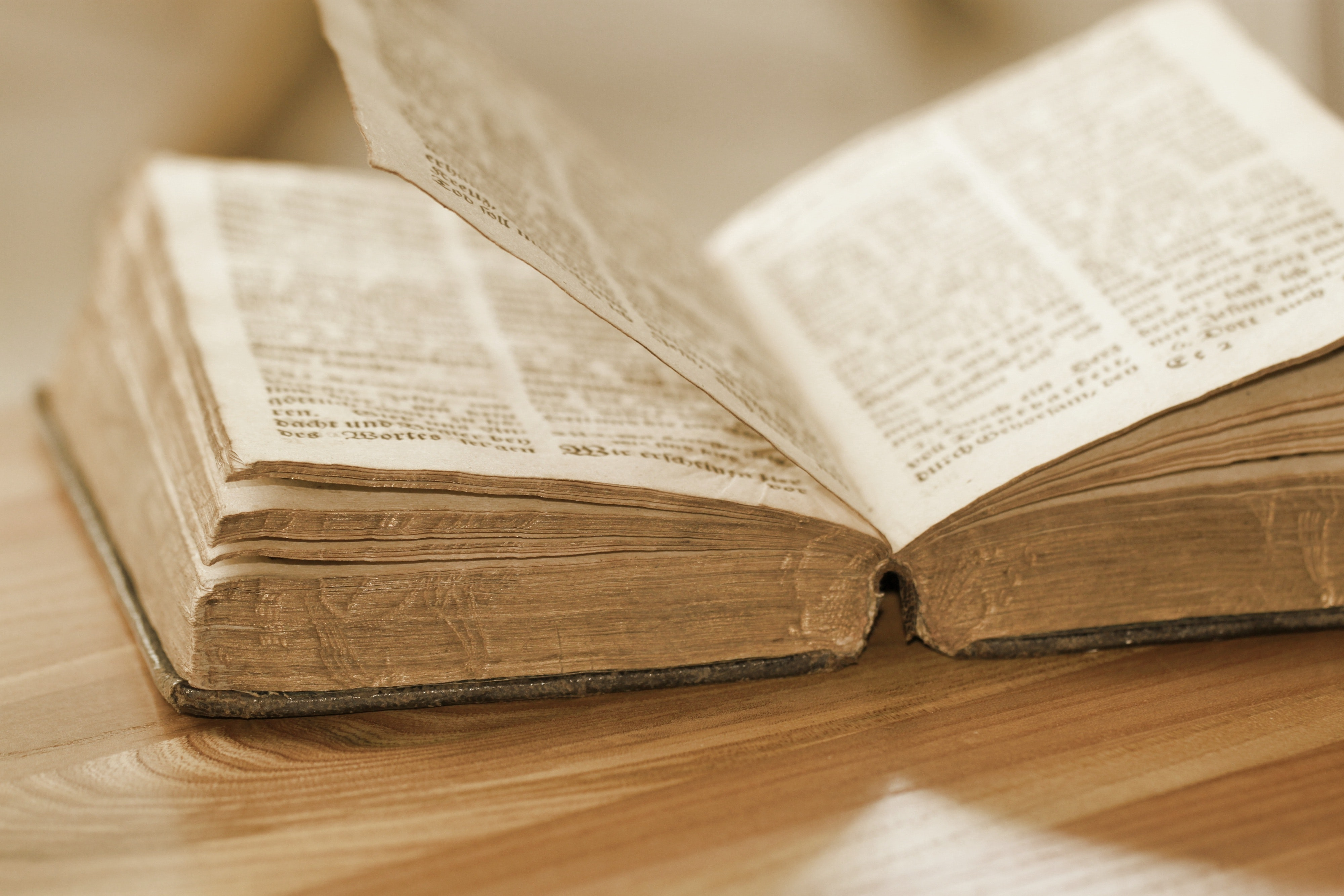 An Opened Old Book, Text, Read, Paper, Knowledge, HQ Photo