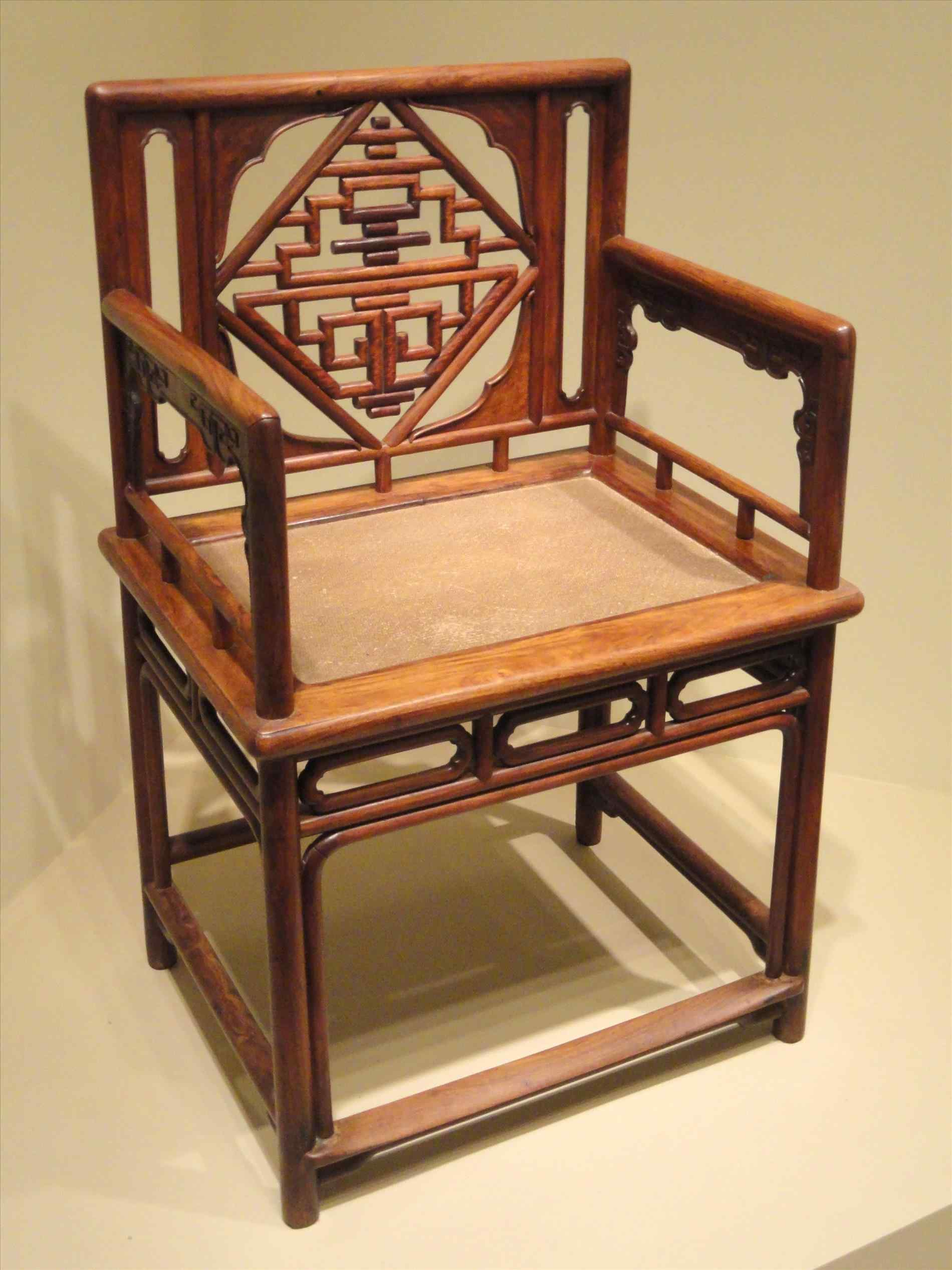 The Images Collection of Filelowback ancient chinese chair arm china ...