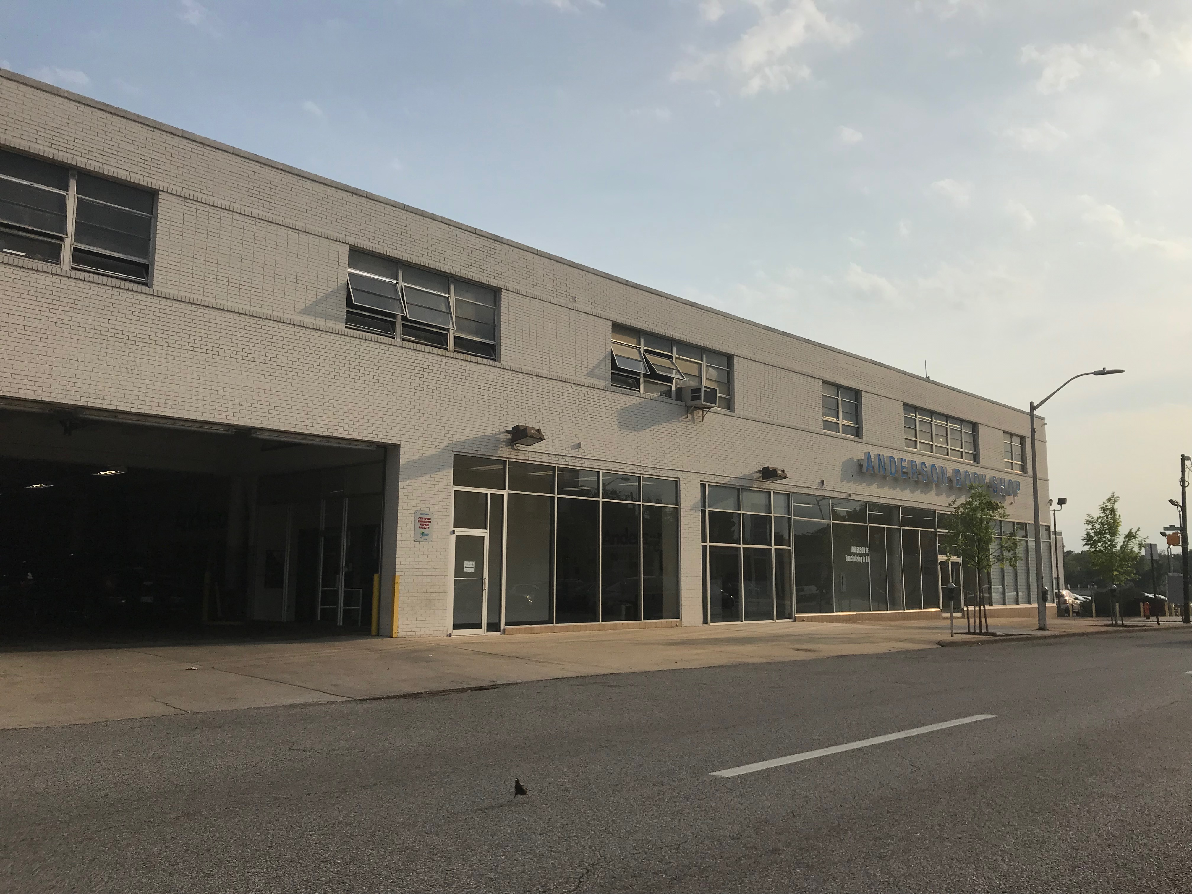 Anderson Body Shop, 115 W. 25th Street, Baltimore, MD 21218, 25th Street, Architecture, Automobile dealership, Baltimore, HQ Photo