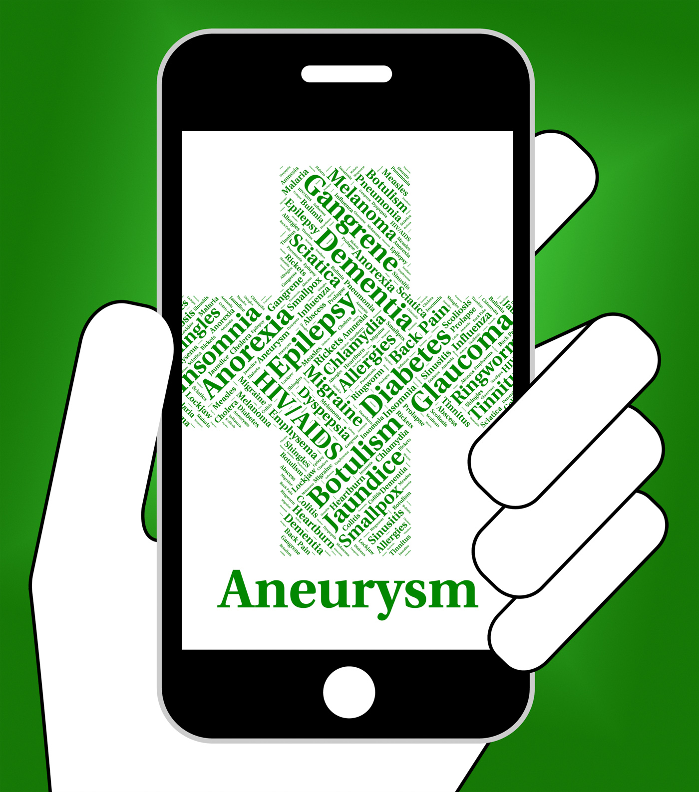Aneurysm Illness Indicates Artery Wall And Ailment, Affliction, Sick, Poorhealth, Malady, HQ Photo