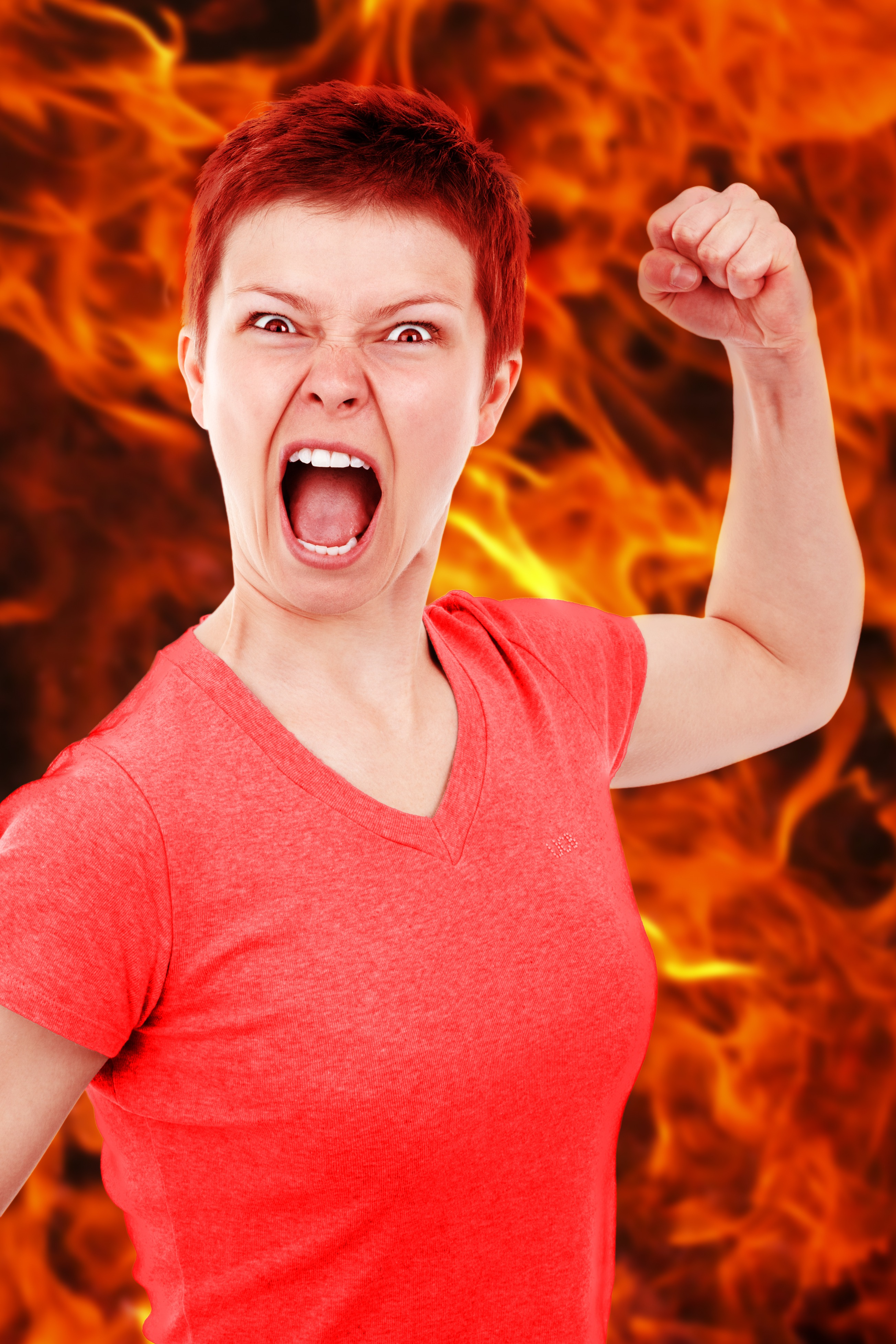 Angry Lady, Activity, Anger, Angry, Fashion, HQ Photo