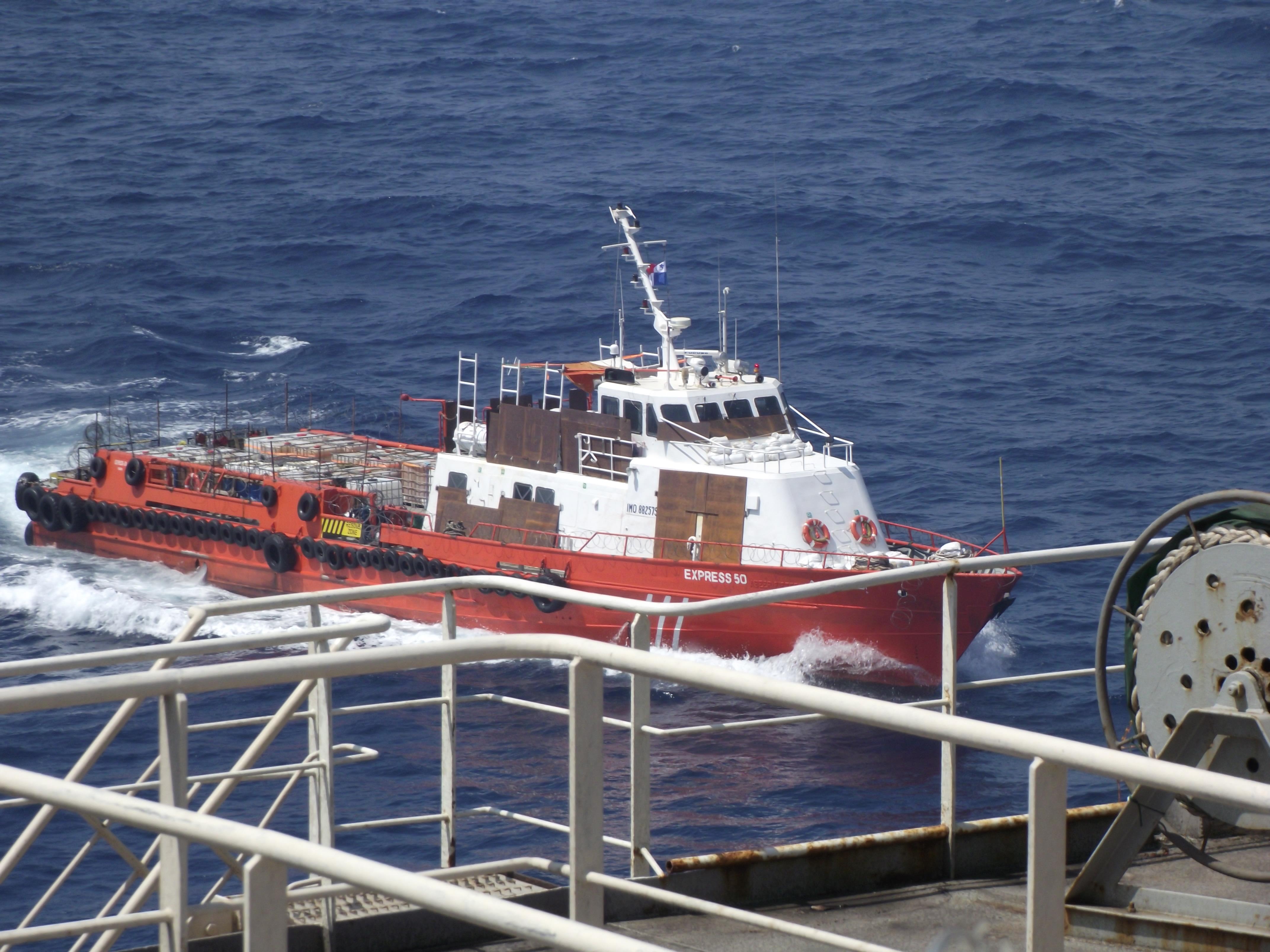Anti Pirate Vessel, 2011, Anti, Armored, Boat, HQ Photo
