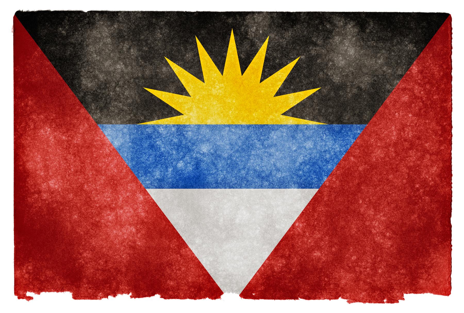 Antigua and Barbuda Grunge Flag, Aged, Resource, National, Old, HQ Photo