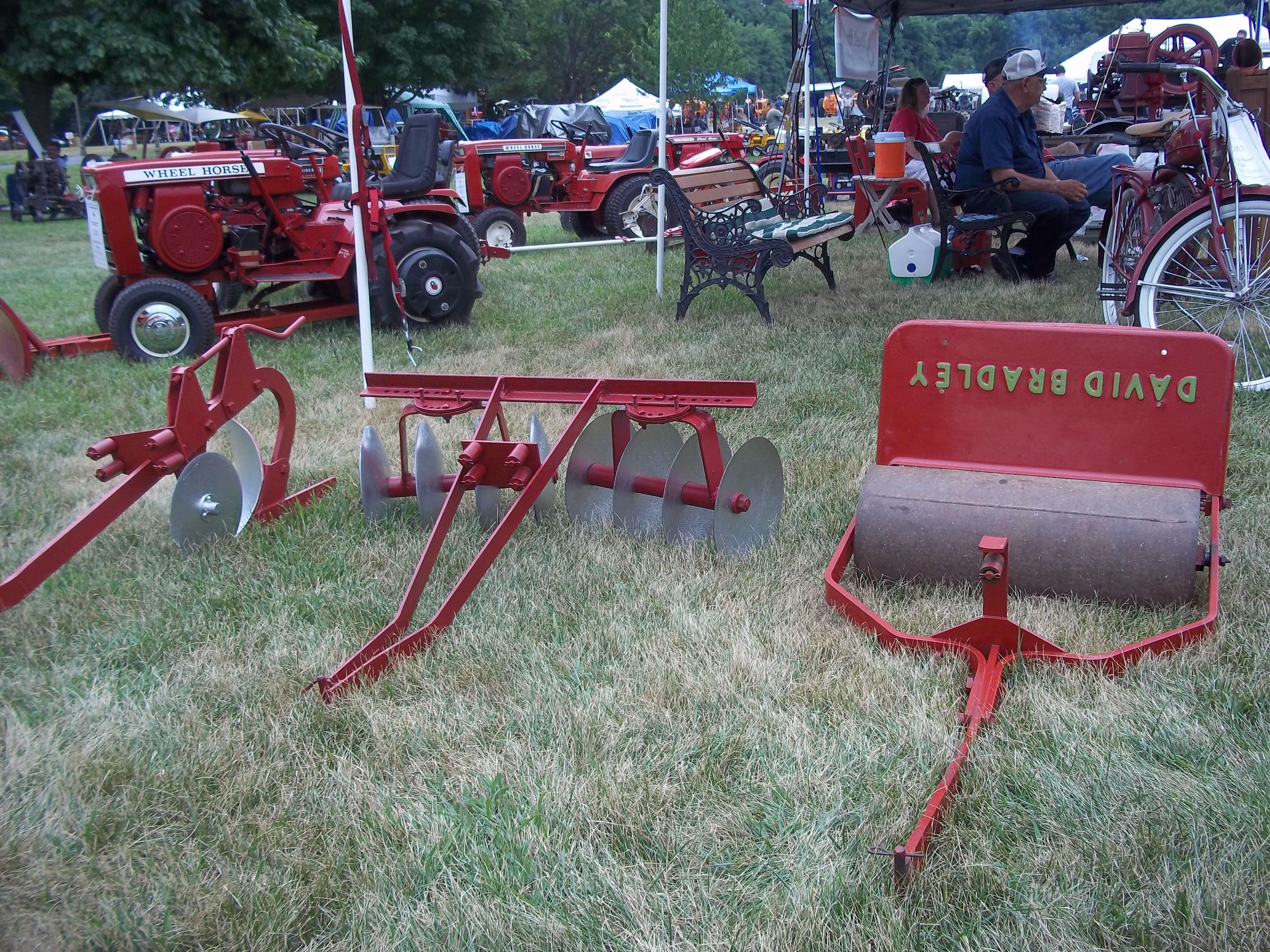 Garden tractor implememts | Farm Equipment | Pinterest | Tractor ...