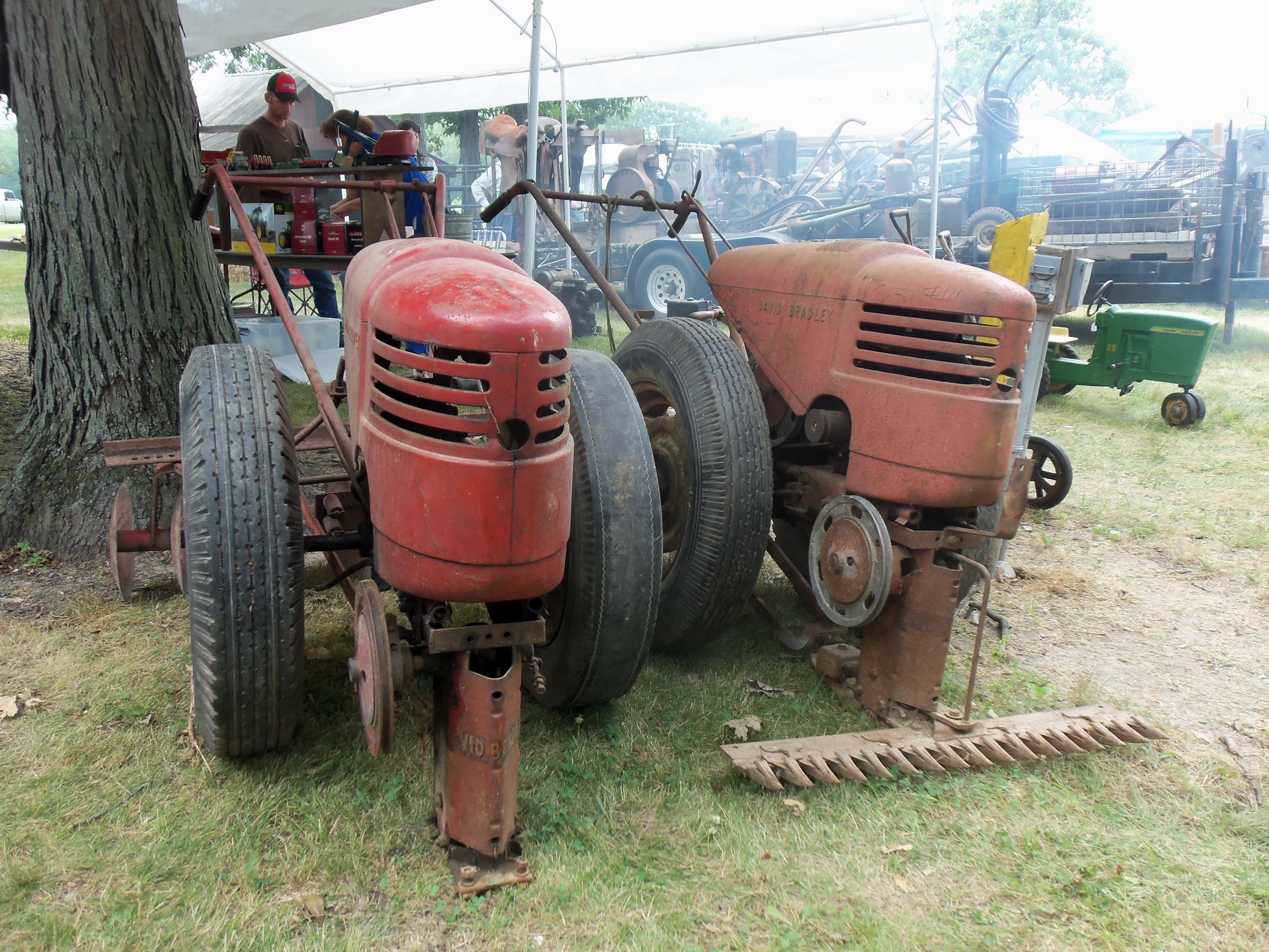 2 David Bradleys | Farm Equipment | Pinterest | Tractor, Antique ...