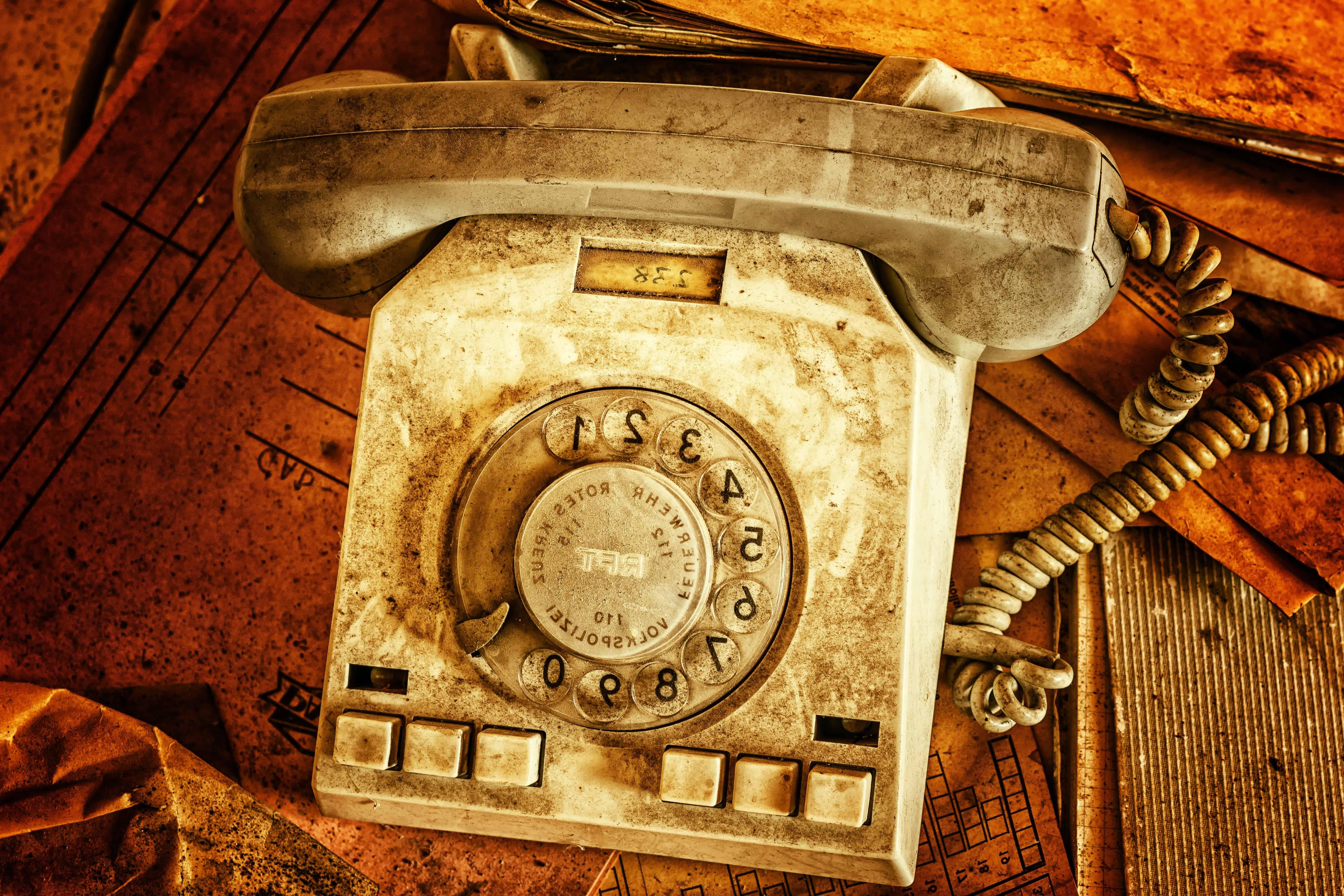 Free picture: antique, old, nostalgia, retro, classic, telephone ...