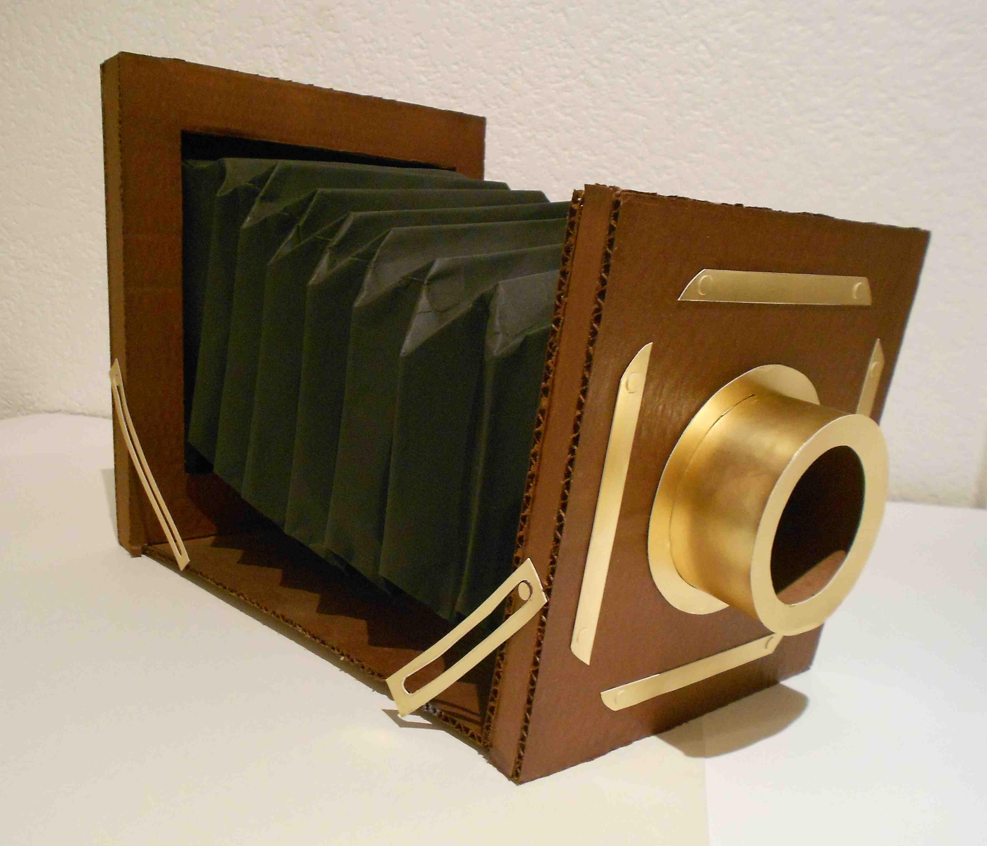 Cardboard Antique Camera | Color Junkie