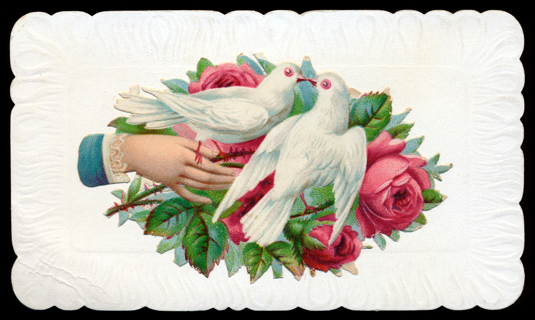 Antique victorian trade card photo