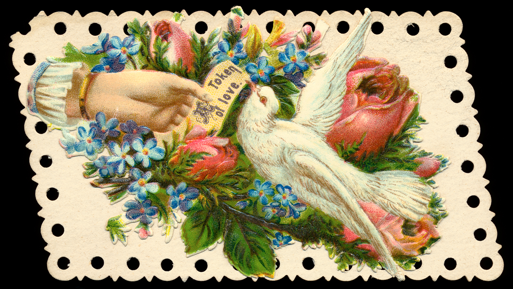 Antique victorian trade card photo