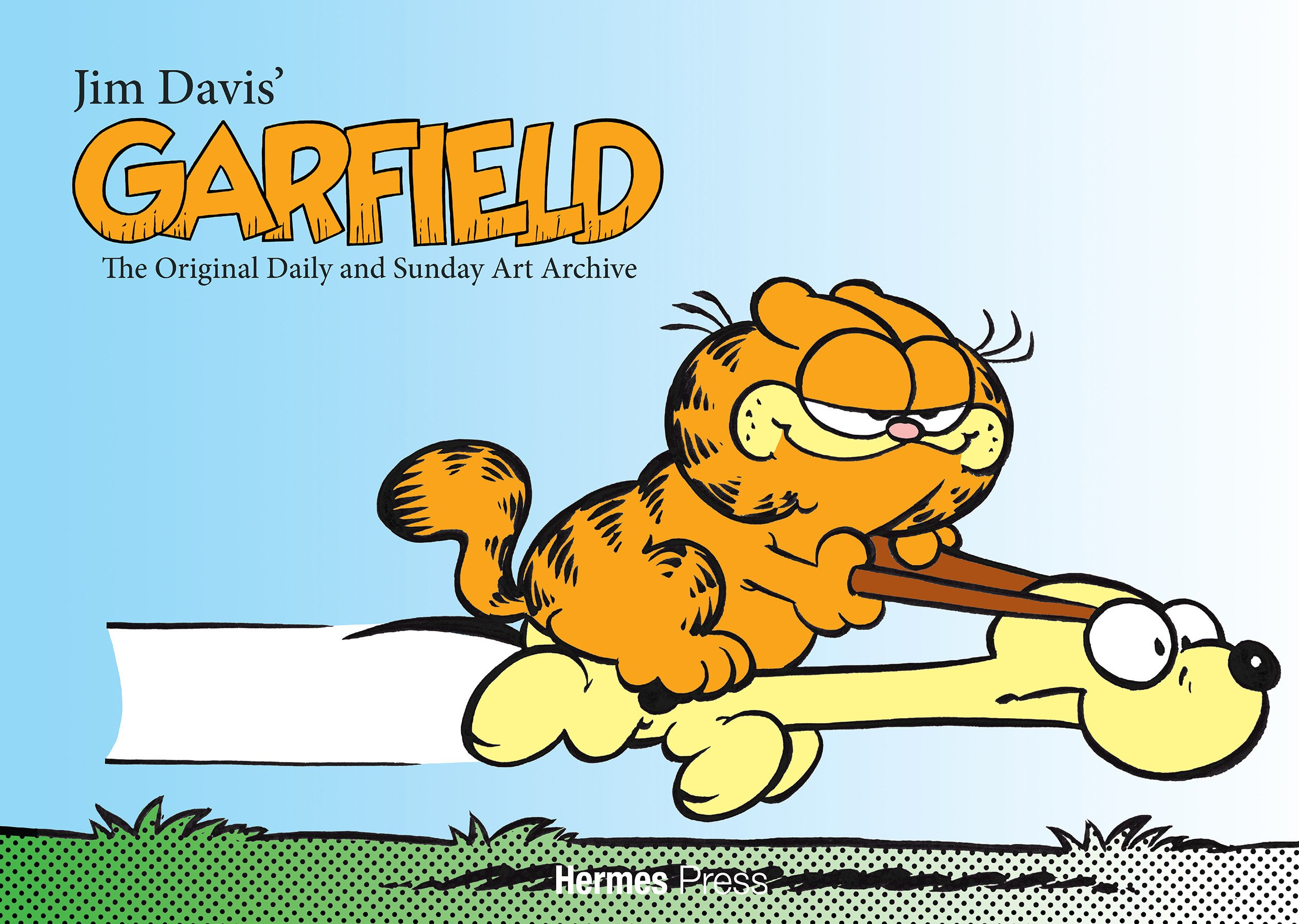 Jim Davis' Garfield: The Original Art Daily and Sunday Archive ...