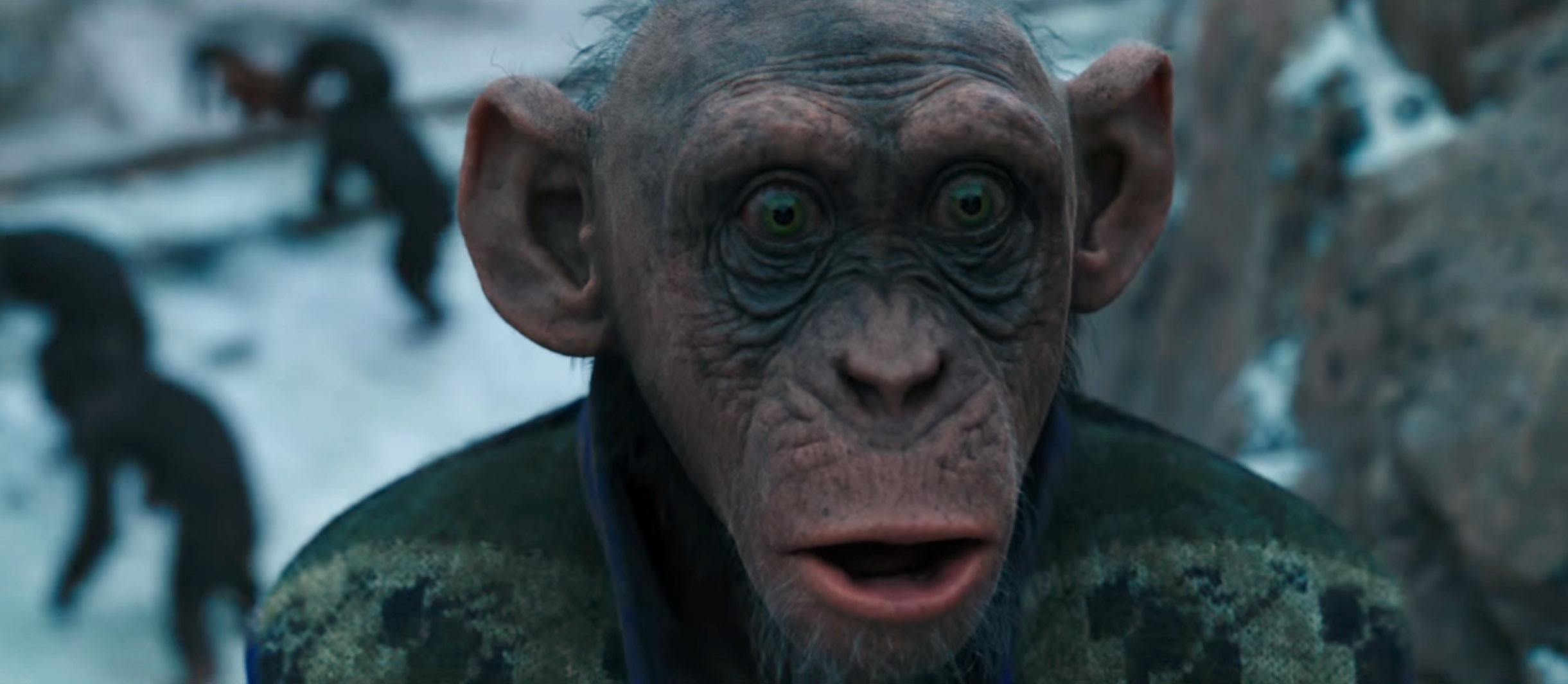 That Ape Isn't Wearing DeRay's Vest in 'Planet of the Apes'