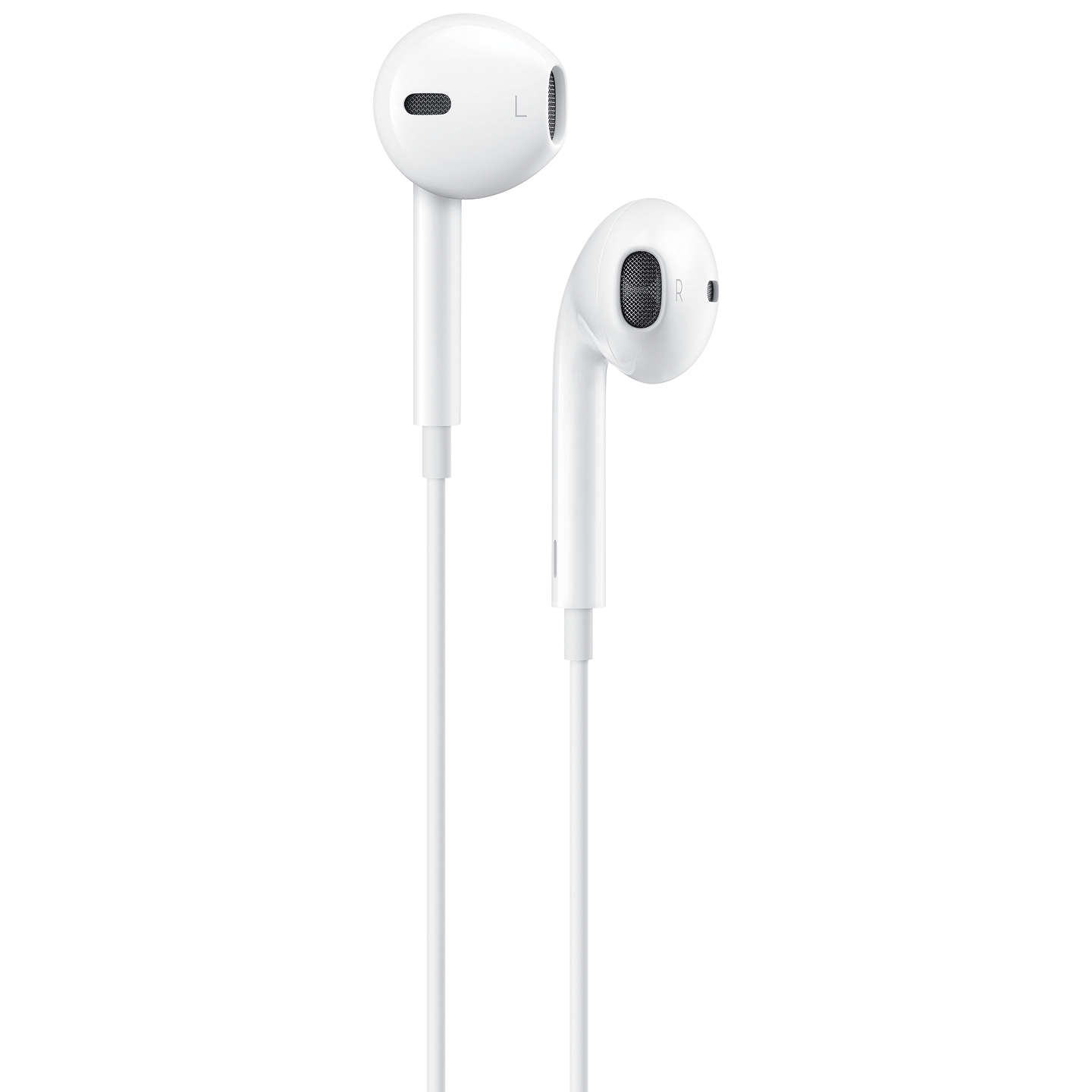 Apple Earpods with Remote and Mic, Lightning Connector, White at ...