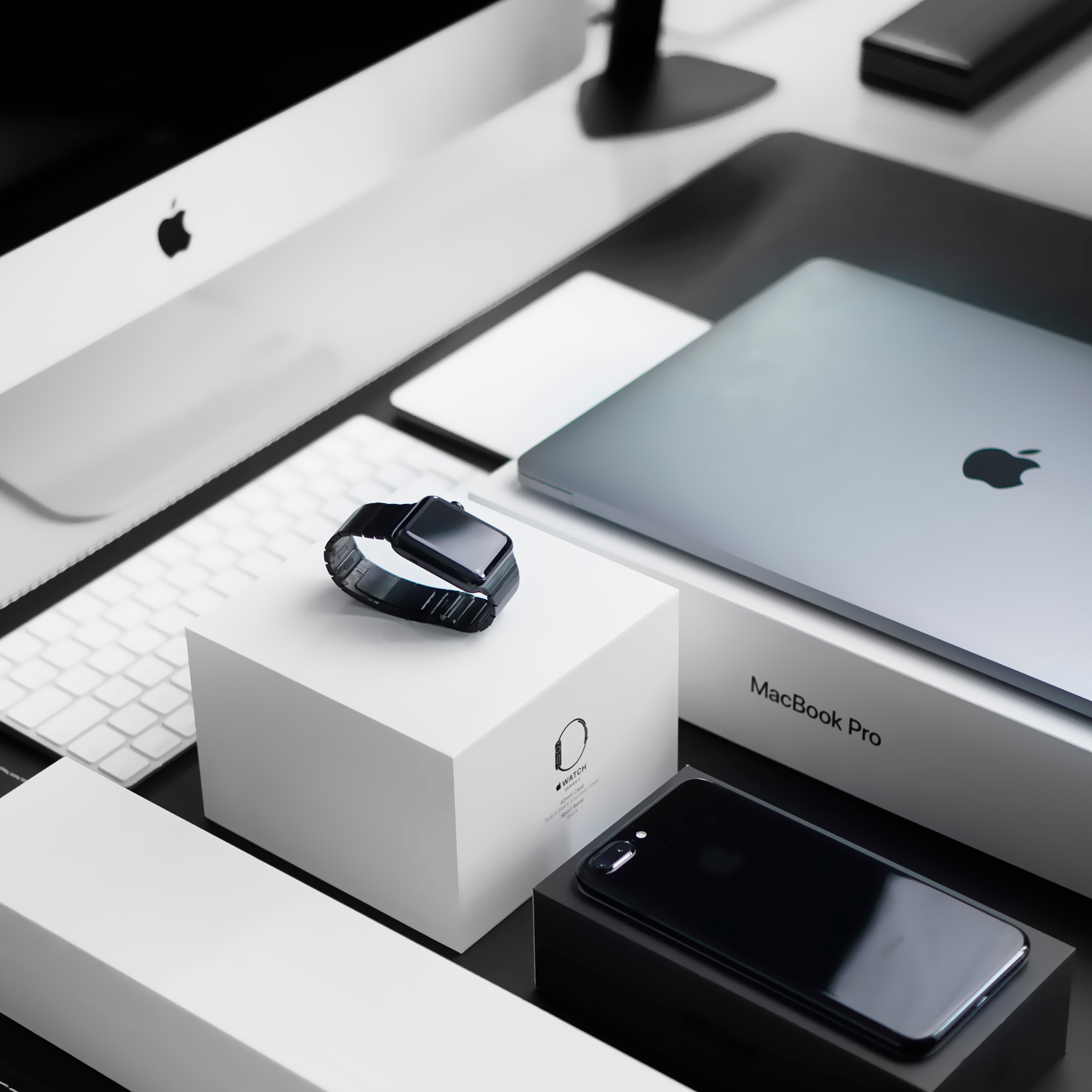Apple products photo