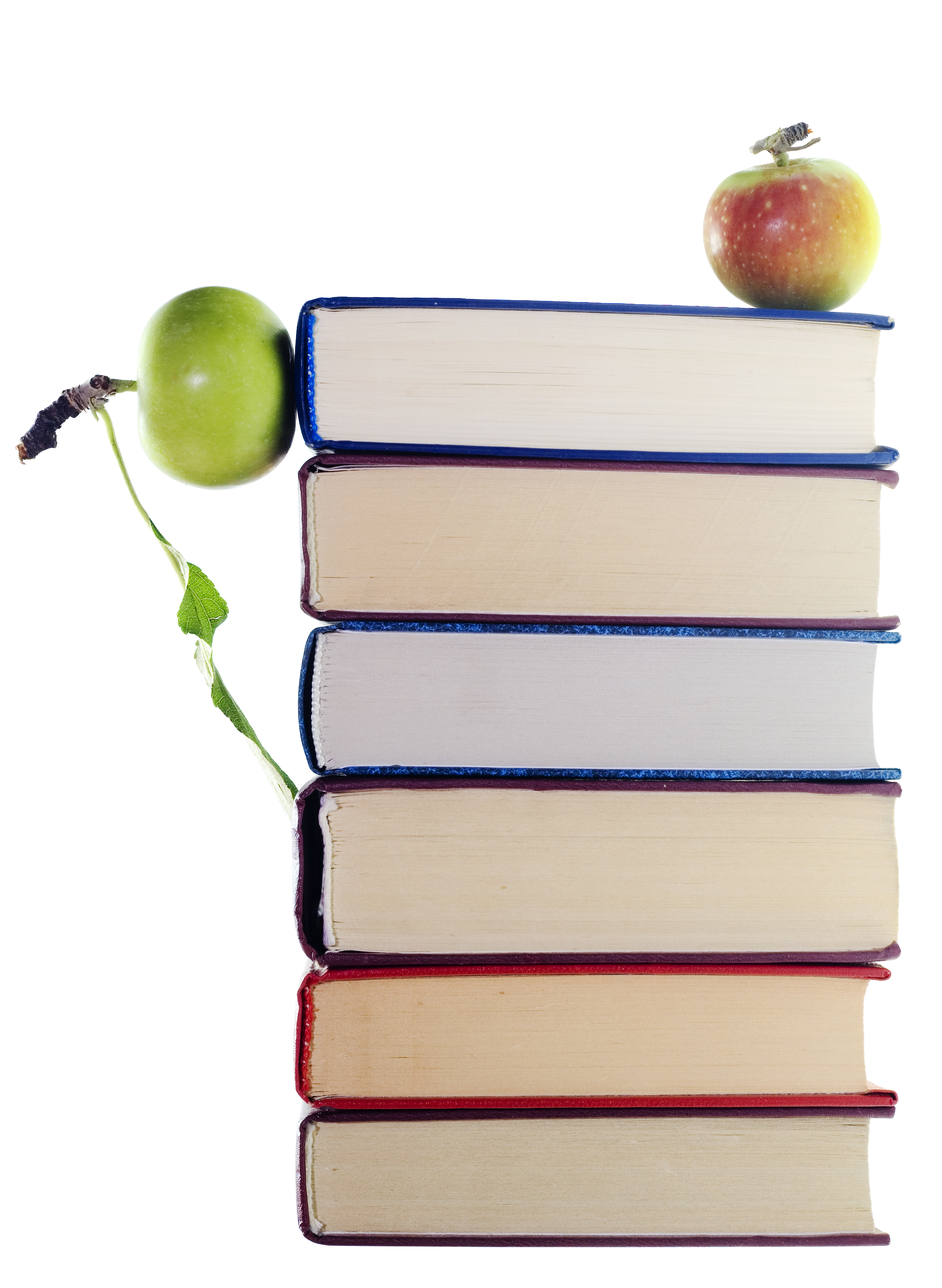 apples on stack of books, Reading, Red, School, Science, HQ Photo