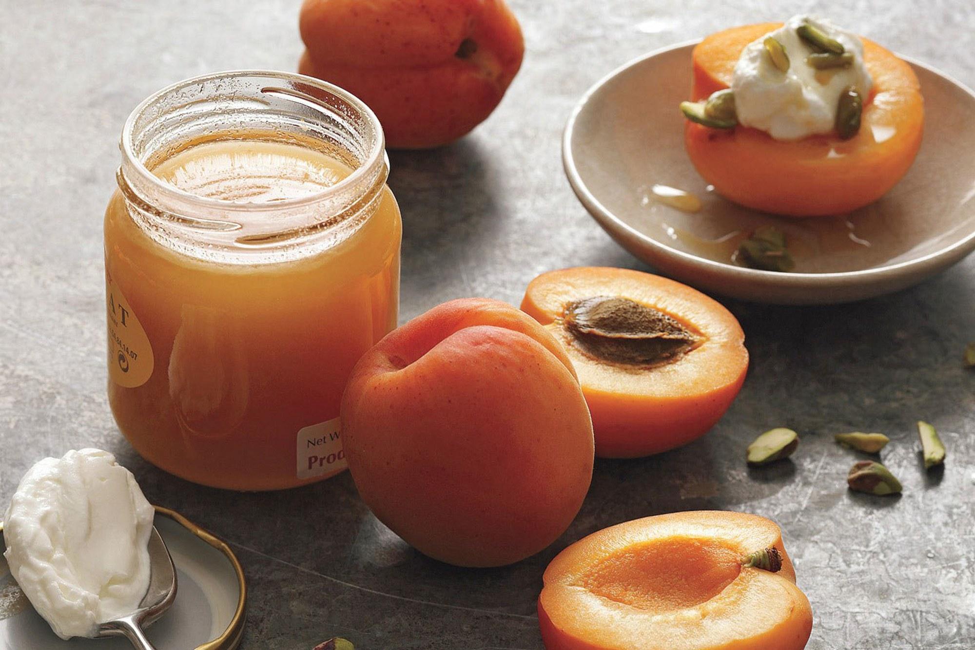 Apricots, Yogurt, and Honey recipe | Epicurious.com