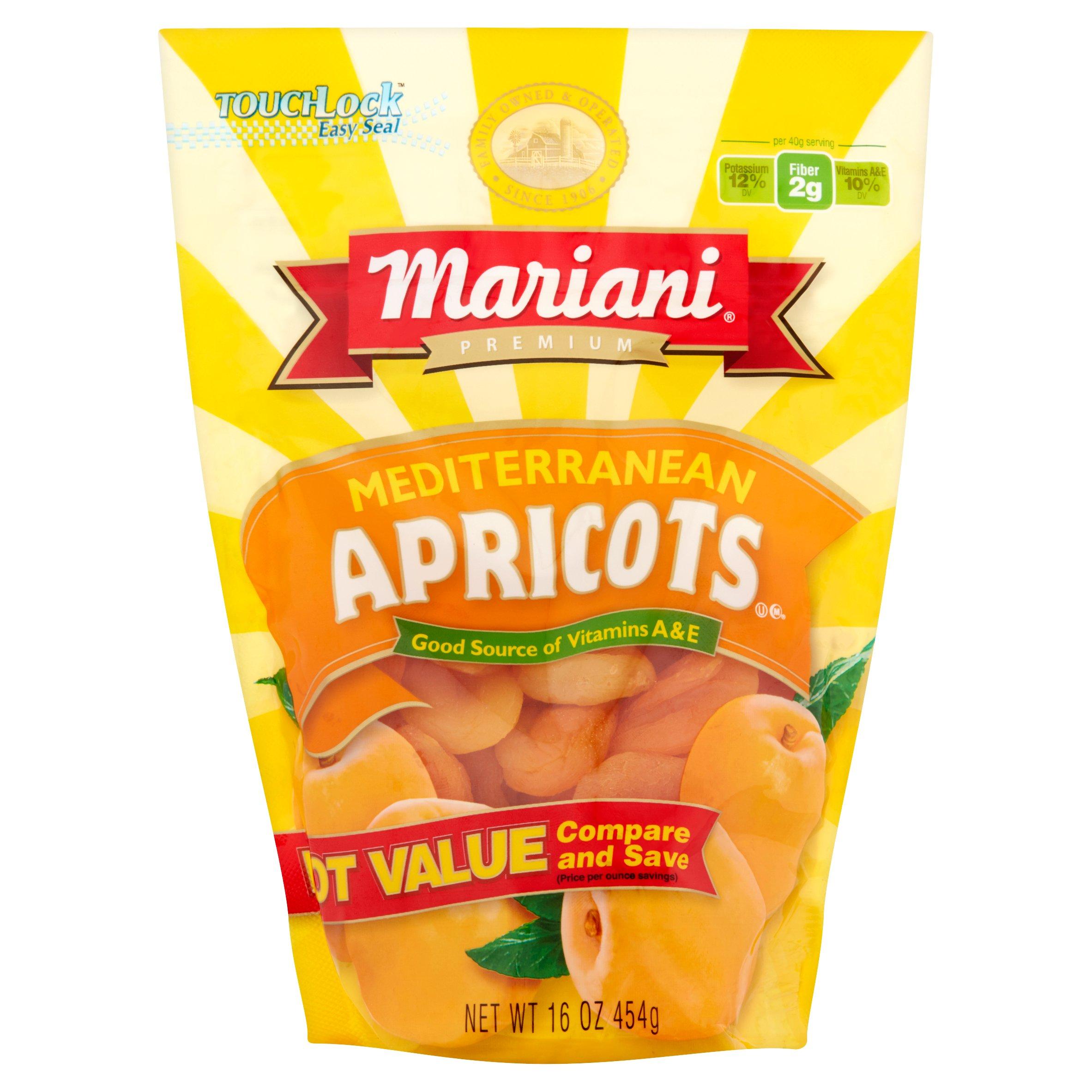 Mariani Mediterranean Apricots, 16 oz - Walmart.com